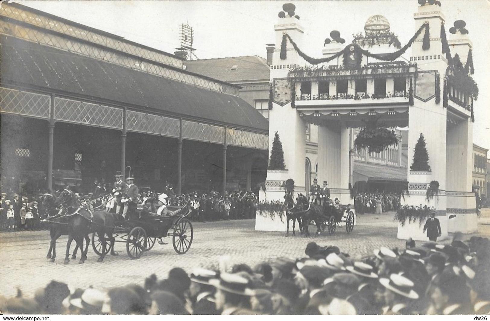 Evènement à Identifier Vers 1910 - Famille Royale Pays-Bas? Wilhelmine Et Henri De Mecklembourg? - Carte-photo - Cartes Postales