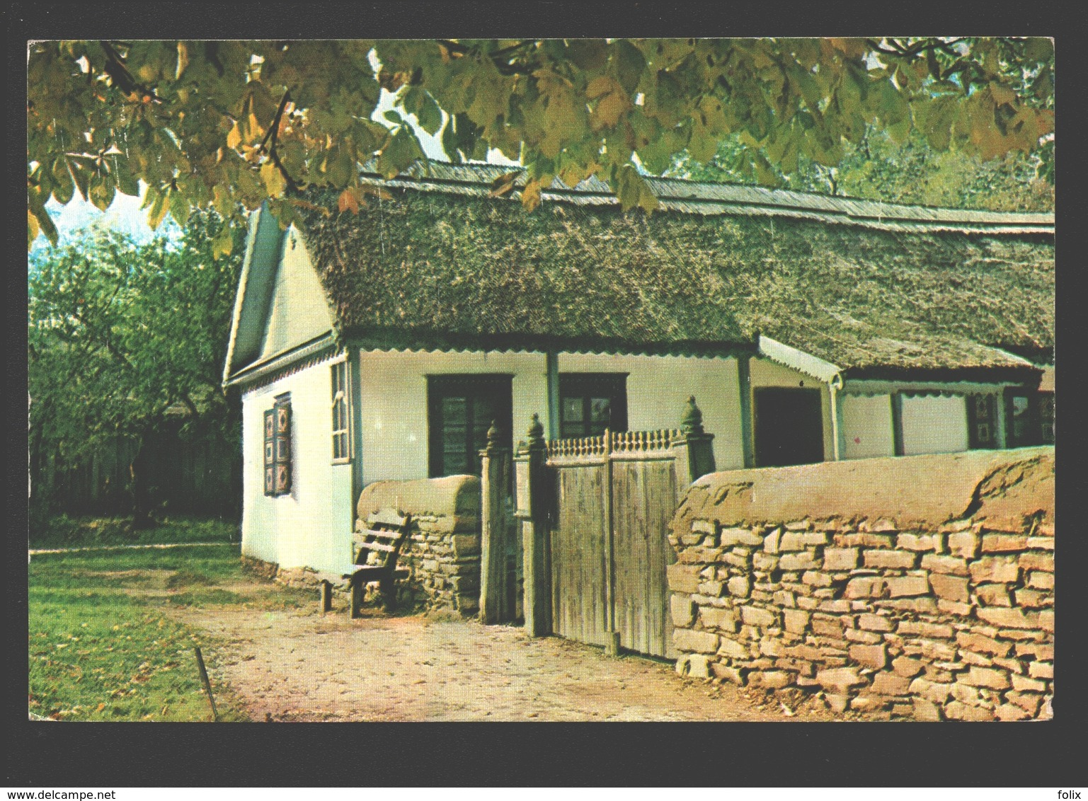 Tilisca - The Village Museum - House Jurilovka Village, Tulcea County, 1898 - Roumanie