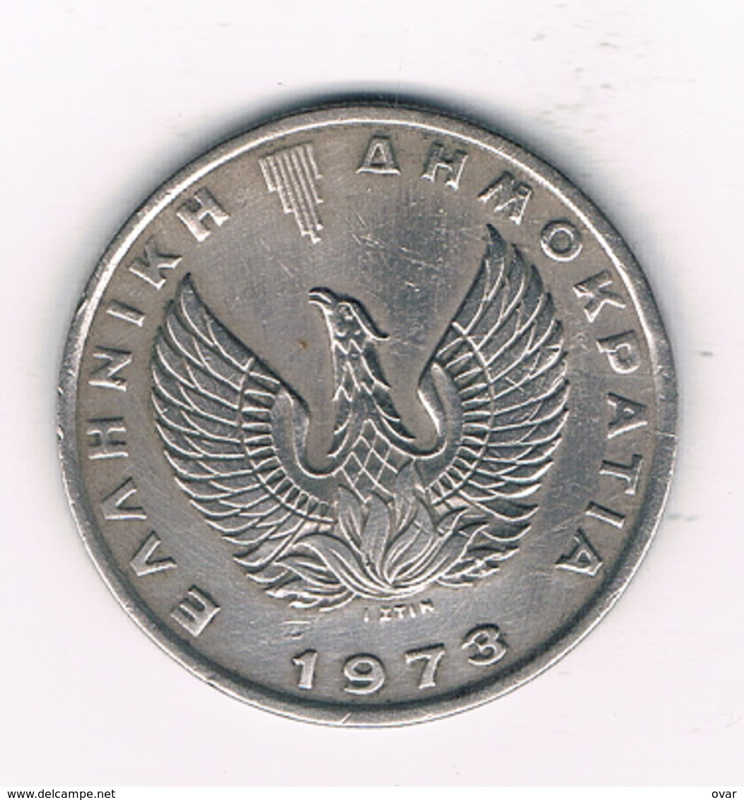 10 DRACHME 1973 GRIEKENLAND /1462/ - Grèce