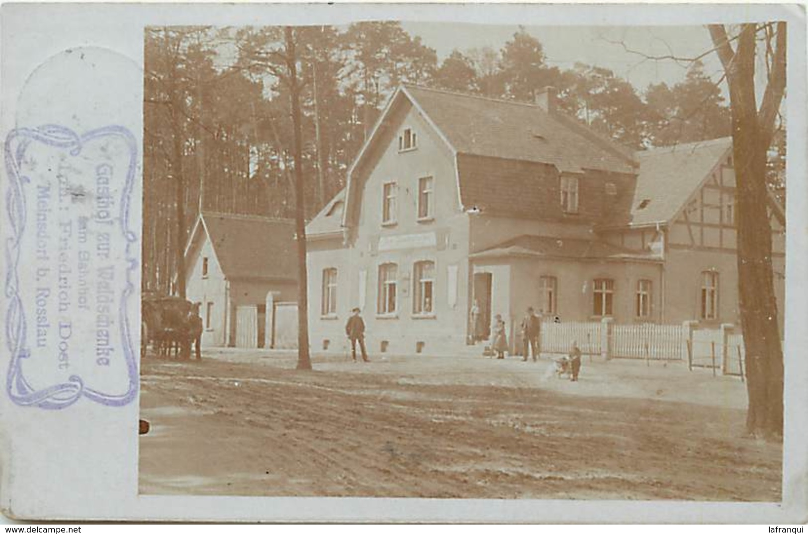 Pays Div- Ref R303- Allemagne -carte Photo - Photo Postcard - Meinsdorf - - Non Classificati