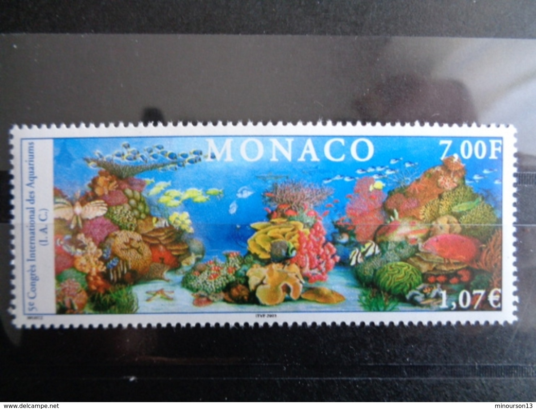 MONACO 2000 Y&T N° 2273 ** - 5e CONGRES INTERN. DES AQUARIUMS - Monaco