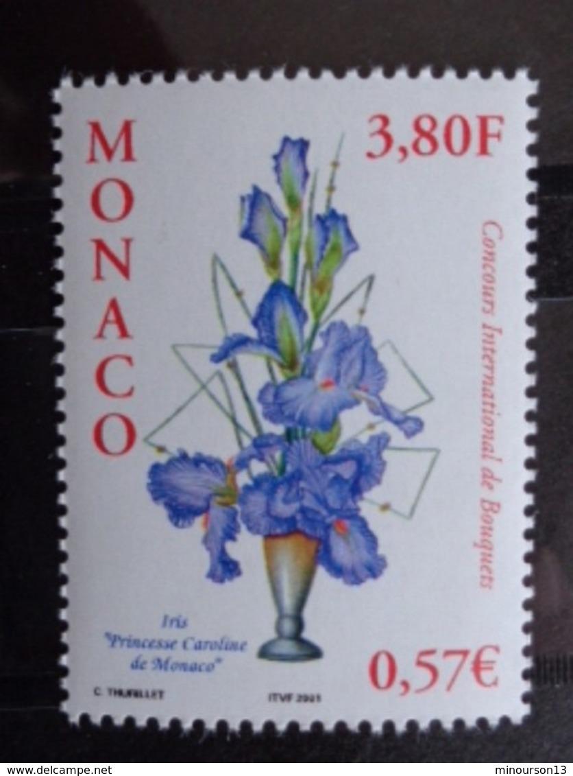 MONACO 2000 Y&T N° 2282 ** - CONCOURS INTERN. DE BOUQUETS - Monaco