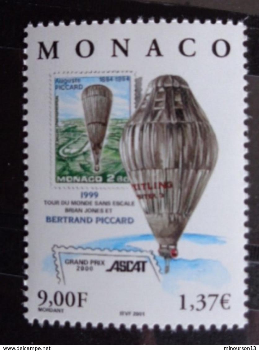 MONACO 2000 Y&T N° 2285 ** - ASCAT GRAND PRIX INTERN. DE LA PHILATELIE 2000 - Monaco