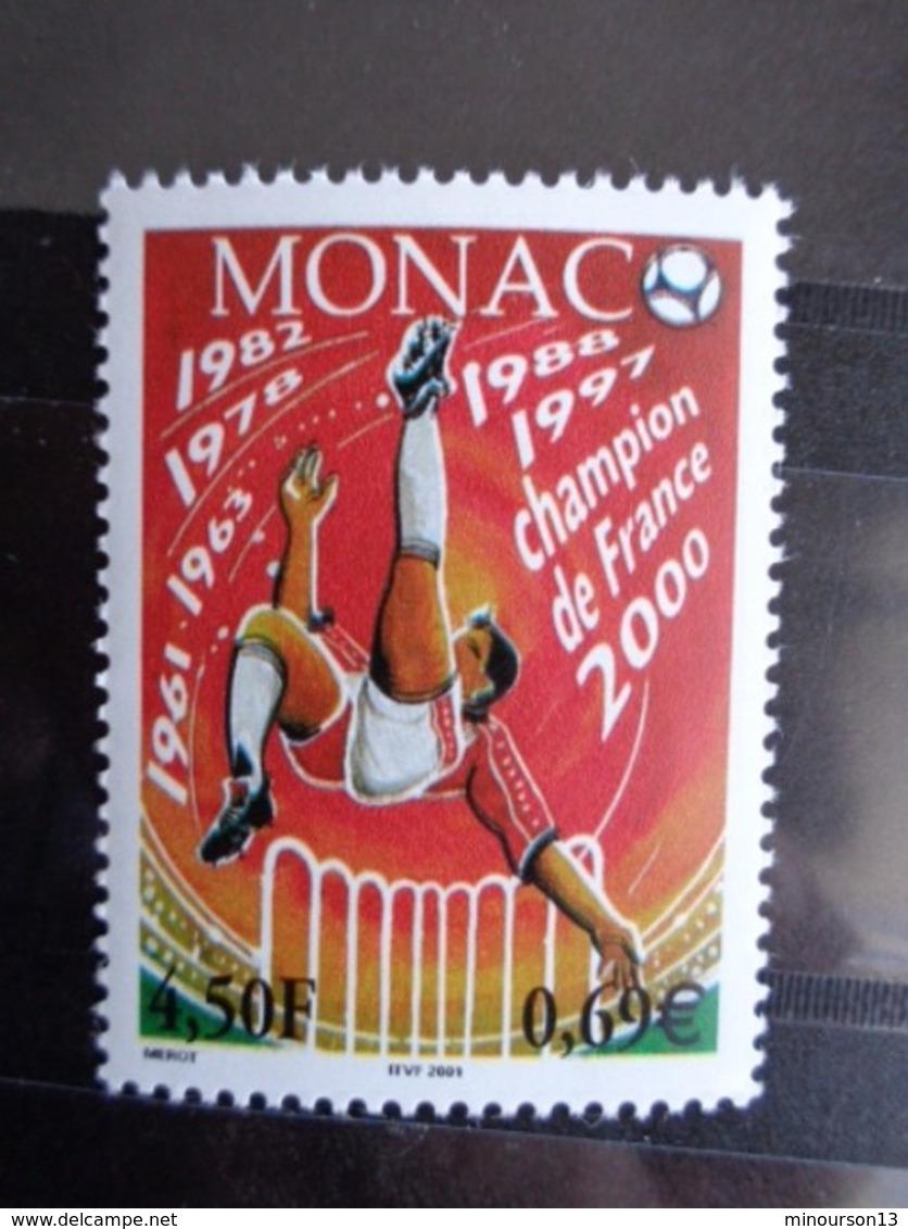 MONACO 2000 Y&T N° 2294 ** - CHAMPION DE FRANCE 2000, A.S.M. - Monaco