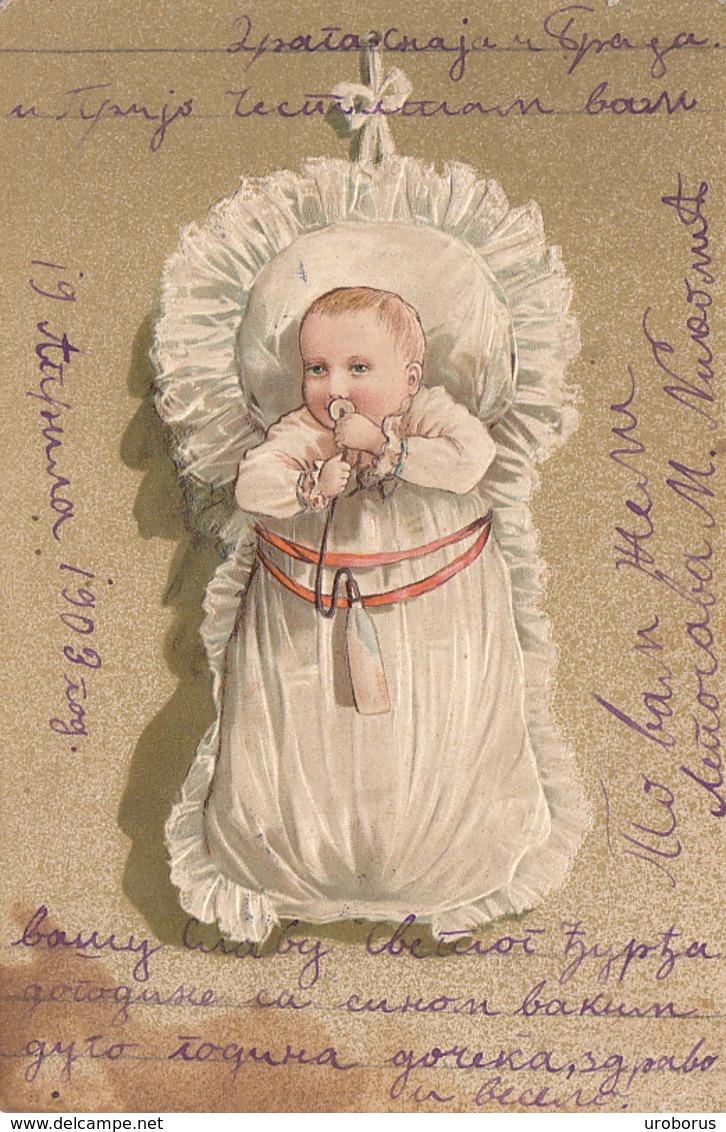 CHILDREN - Fancy Card 1903 - Enfants