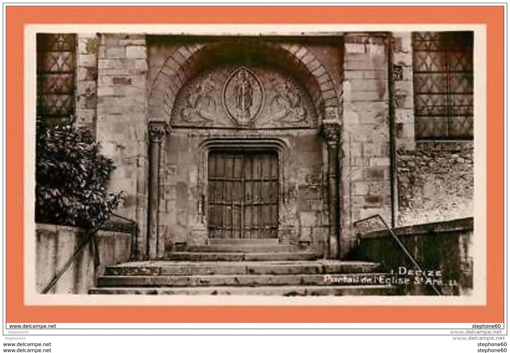 A692 / 501 58 - DECIZE Portail De L'Eglise - France