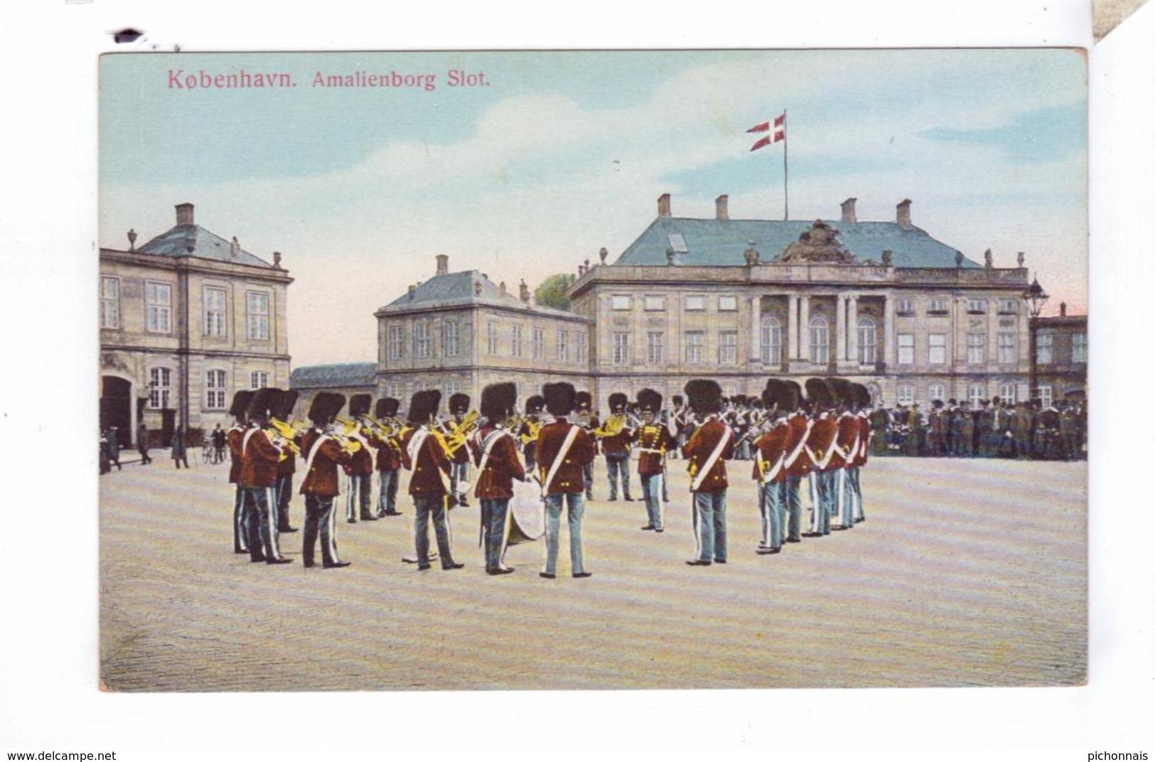 KJOBENHAVN Copenhagen Amalienborg Slot - Danemark