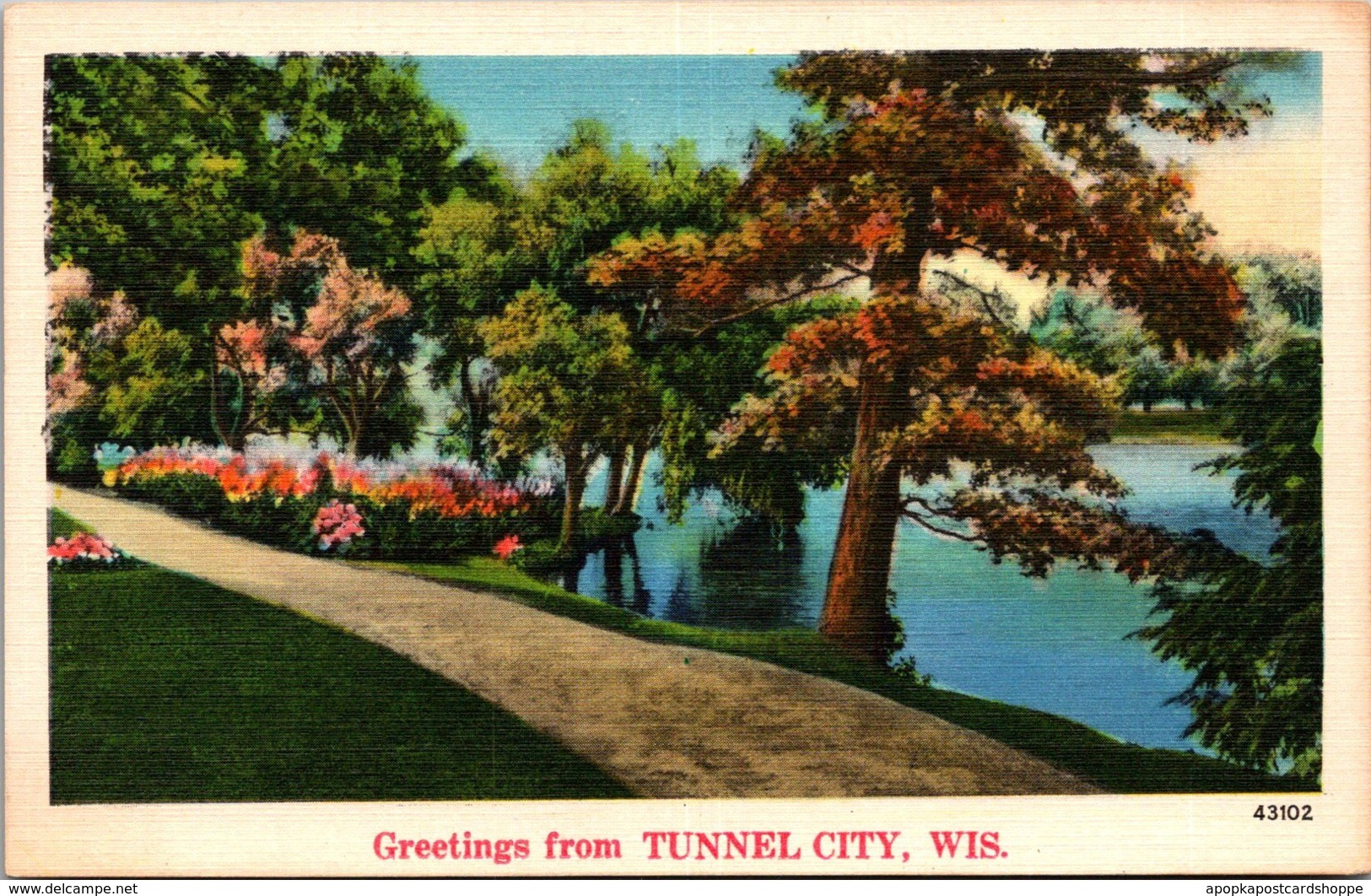 Wisconsin Greetings From Tunnel City
