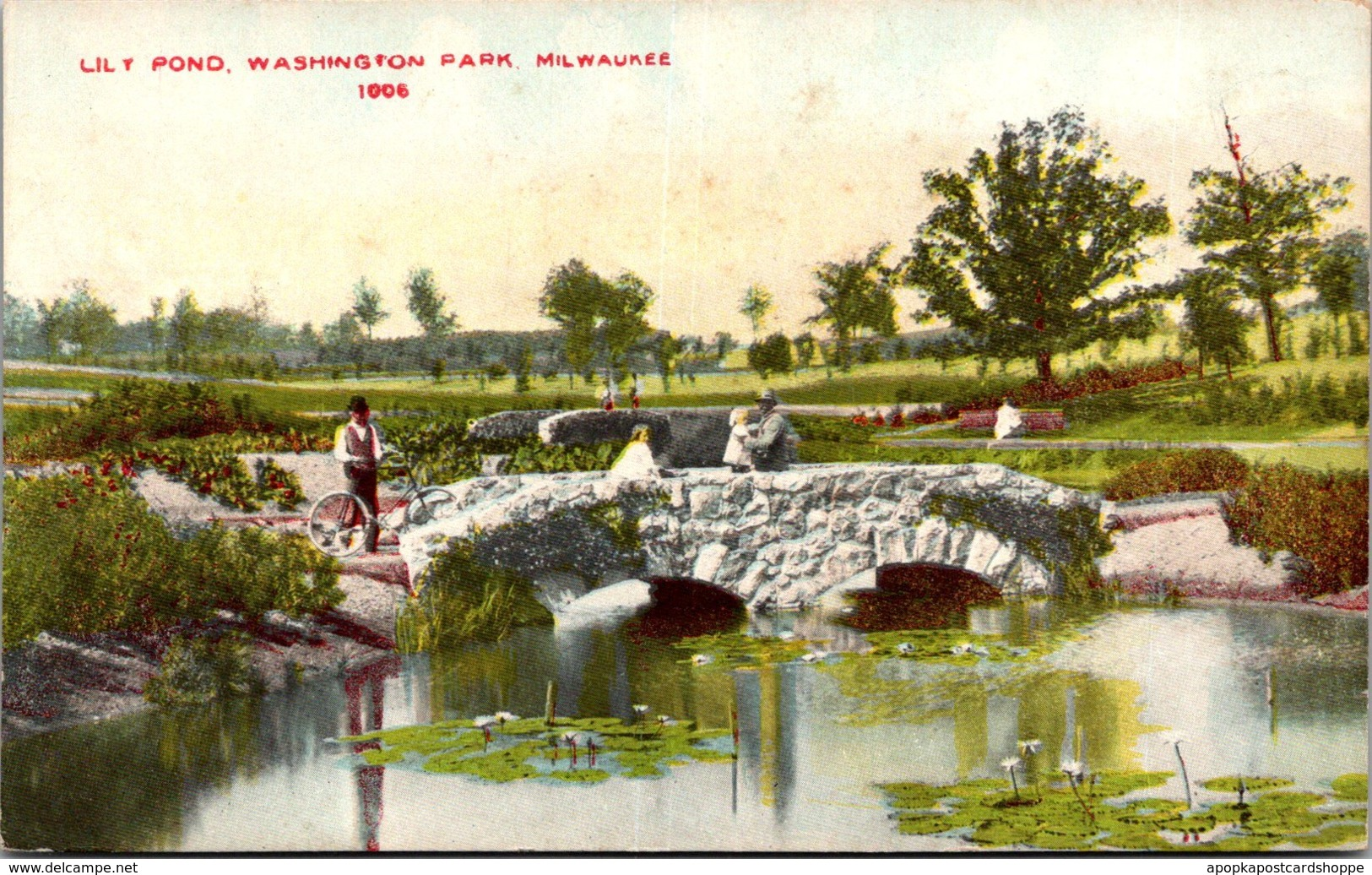 Wisconsin Milwaukee Washington Park Lily Pond
