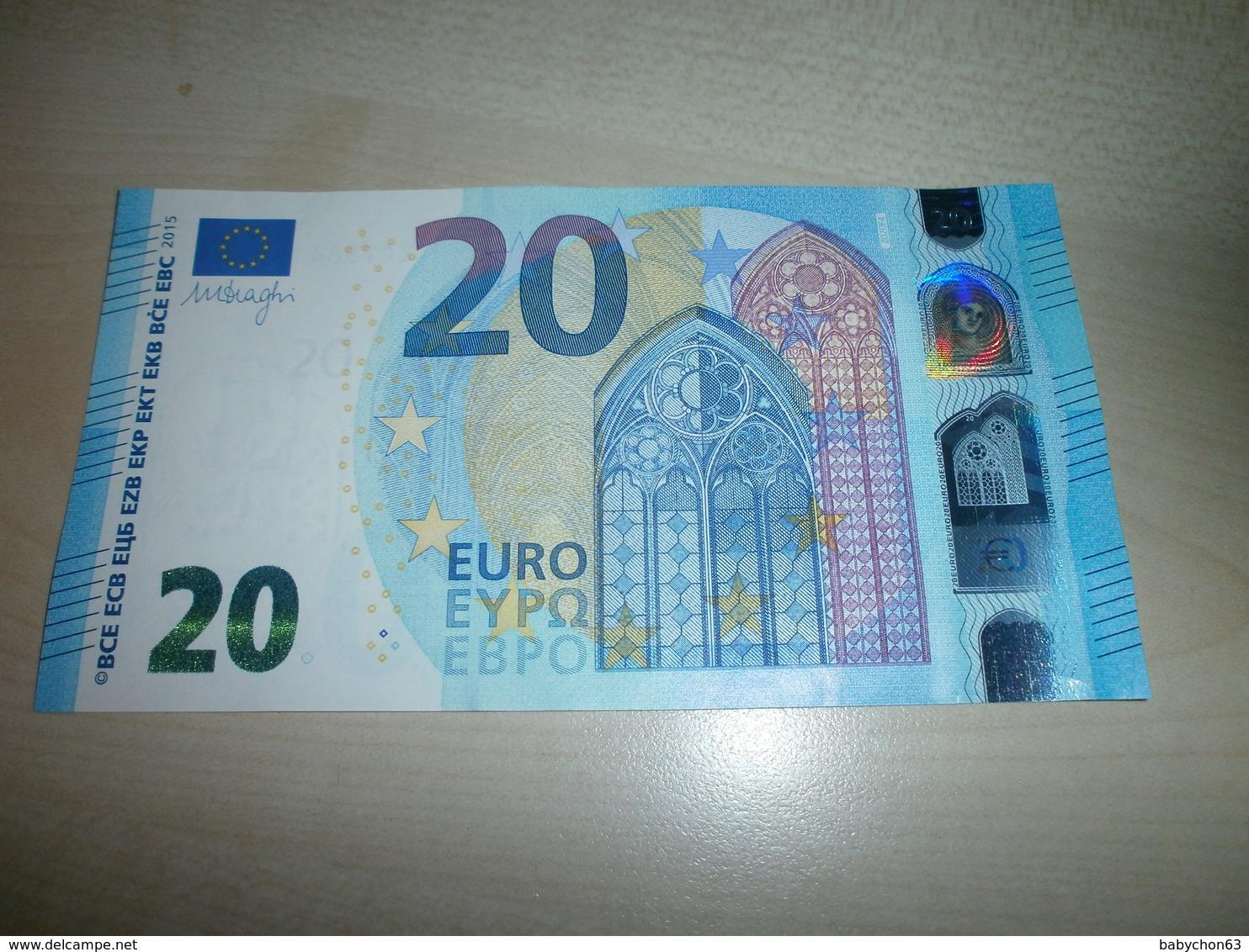 20 EUROS (Z Z020 F4) - EURO