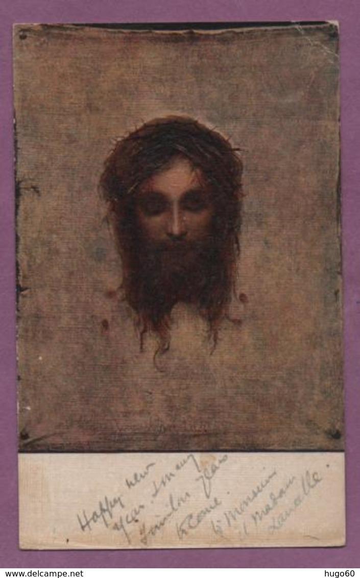 PORTRAIT DU CHRIST - Peintures & Tableaux
