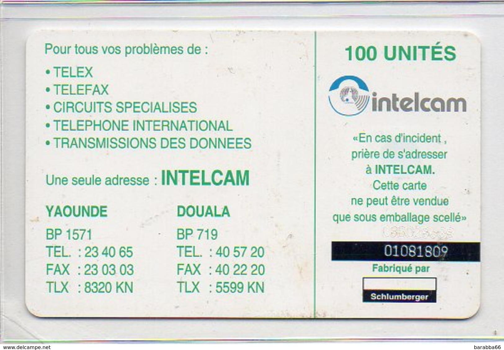 INTELCAM - 100 UN. - RUMSIKI - Ivory Coast