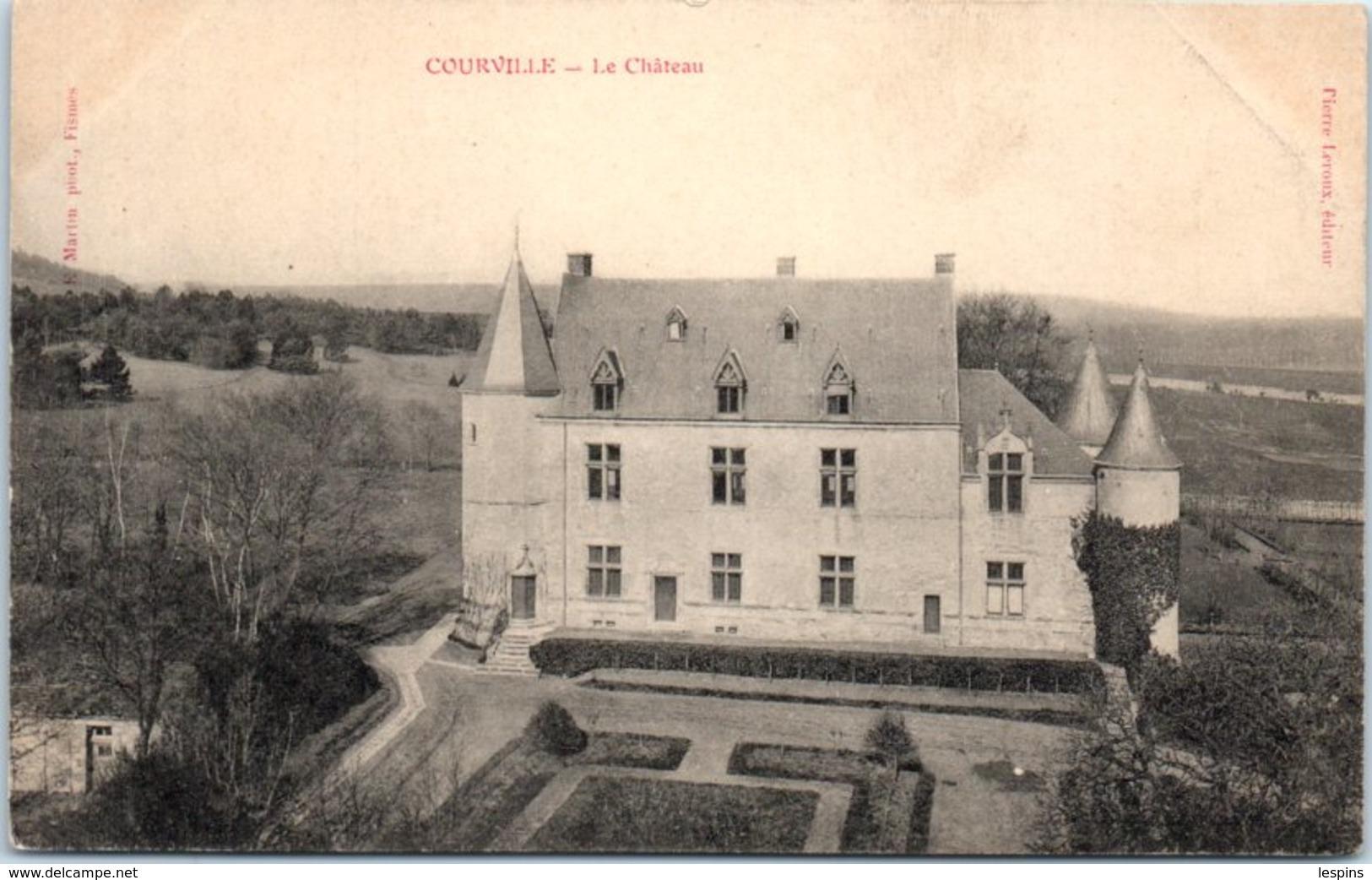 51 - COURVILLE --  Le Château - France