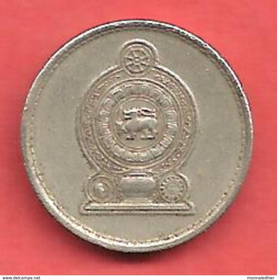 25 Cents , SRI LANKA , Cupro-Nickel , 1982 , N° KM # 141.2 - Sri Lanka