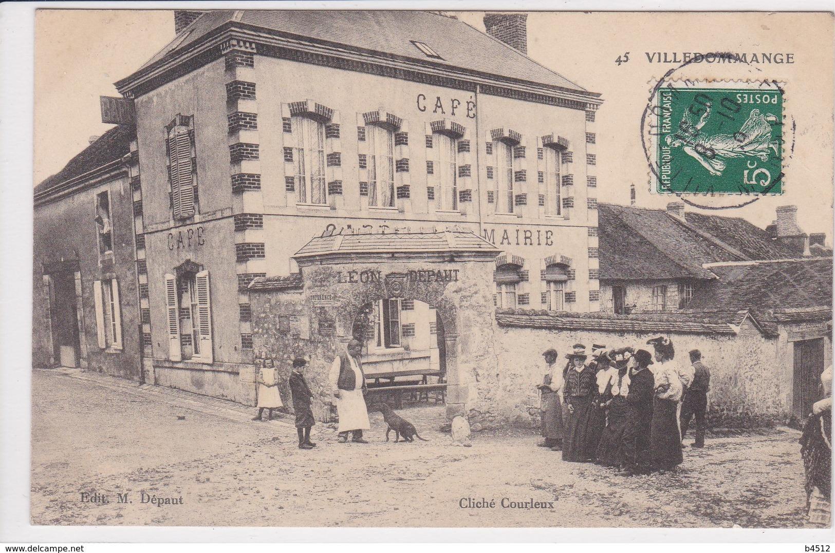 51 VILLEDOMMANGE Façade Café , - France