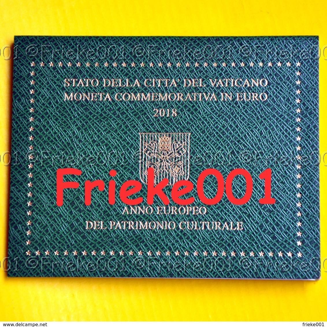 Vaticaan - Vatican - 2 Euro 2018 Comm In Blister.(Cultureel Patrimonium) - Vatican