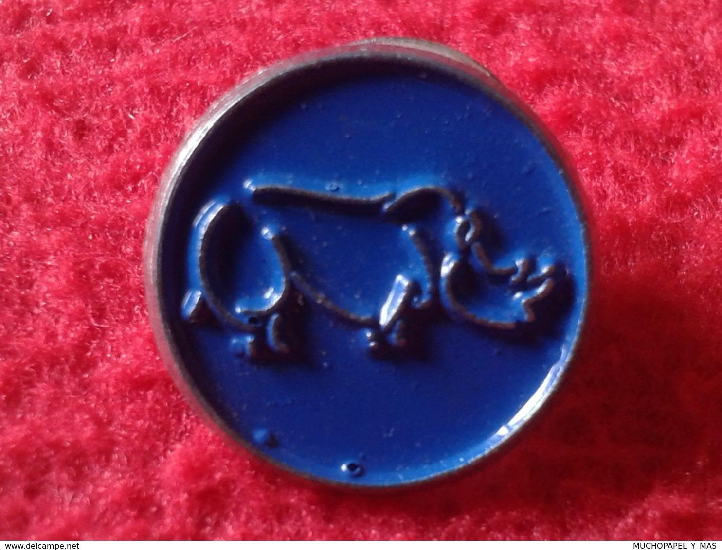 SPAIN ? ANTIGUO OLD PIN RINOCERONTE RHINO RHINOCEROS RHINOS RHINOCEROSES VER FOTOS Y DESCRIPCIÓN. IDEAL COLECCIONISTAS - Animales