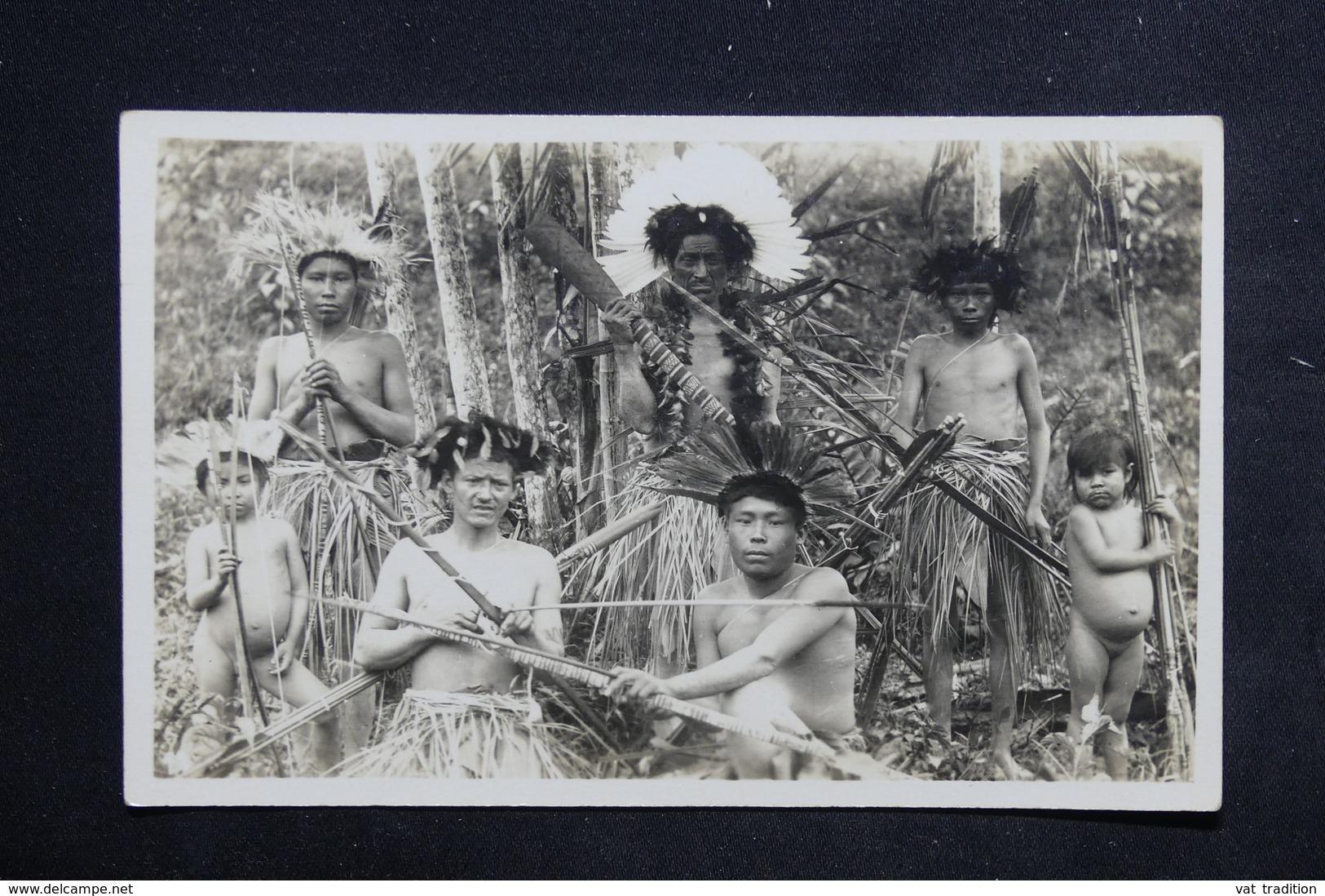 BRÉSIL - Carte Postale Photo - Groupe D'Indiens D 'Amazonie - L 23448 - Brasil