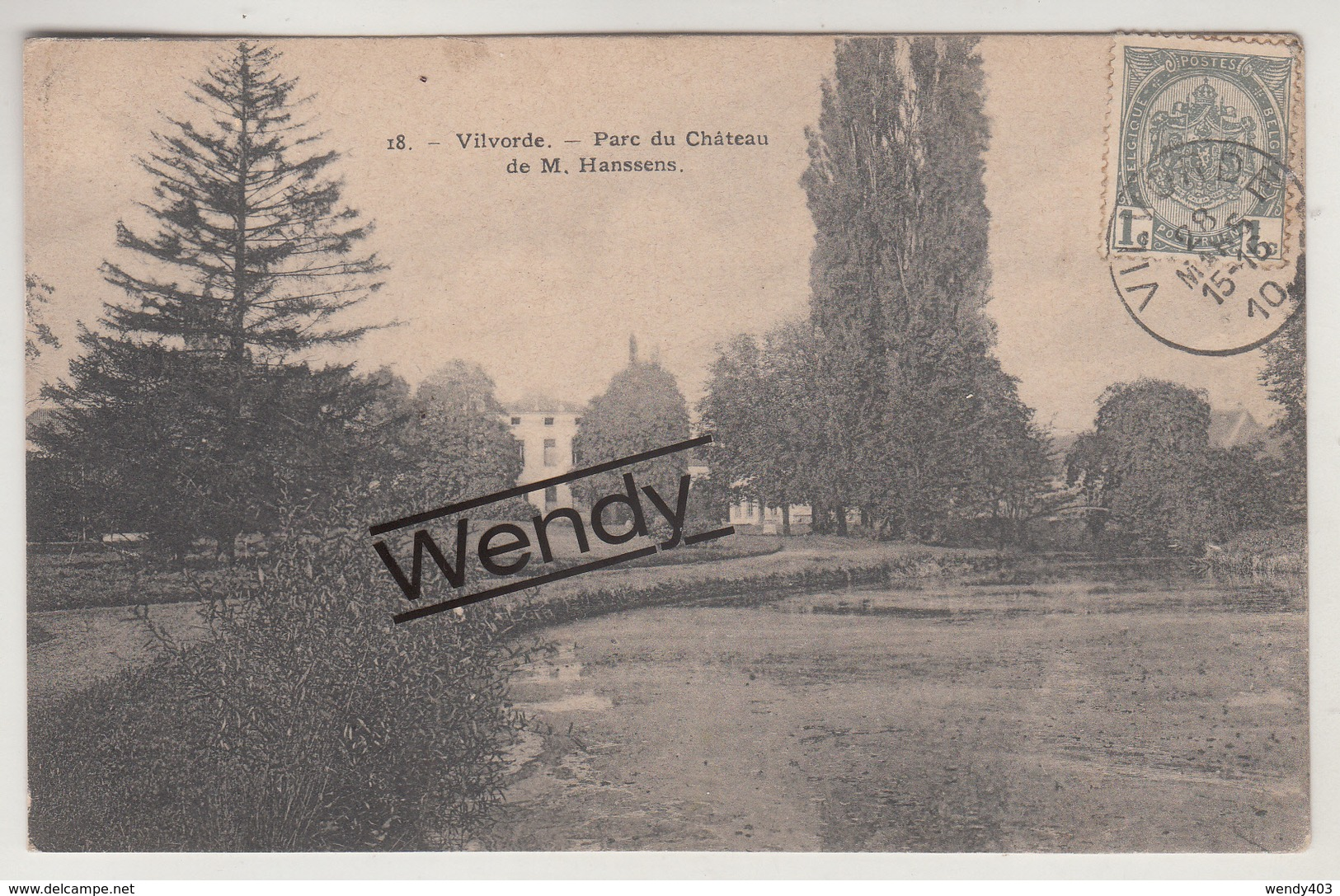 Vilvoorde (parc Du Château De M. Hanssens) ° 18 Bertels - Vilvoorde
