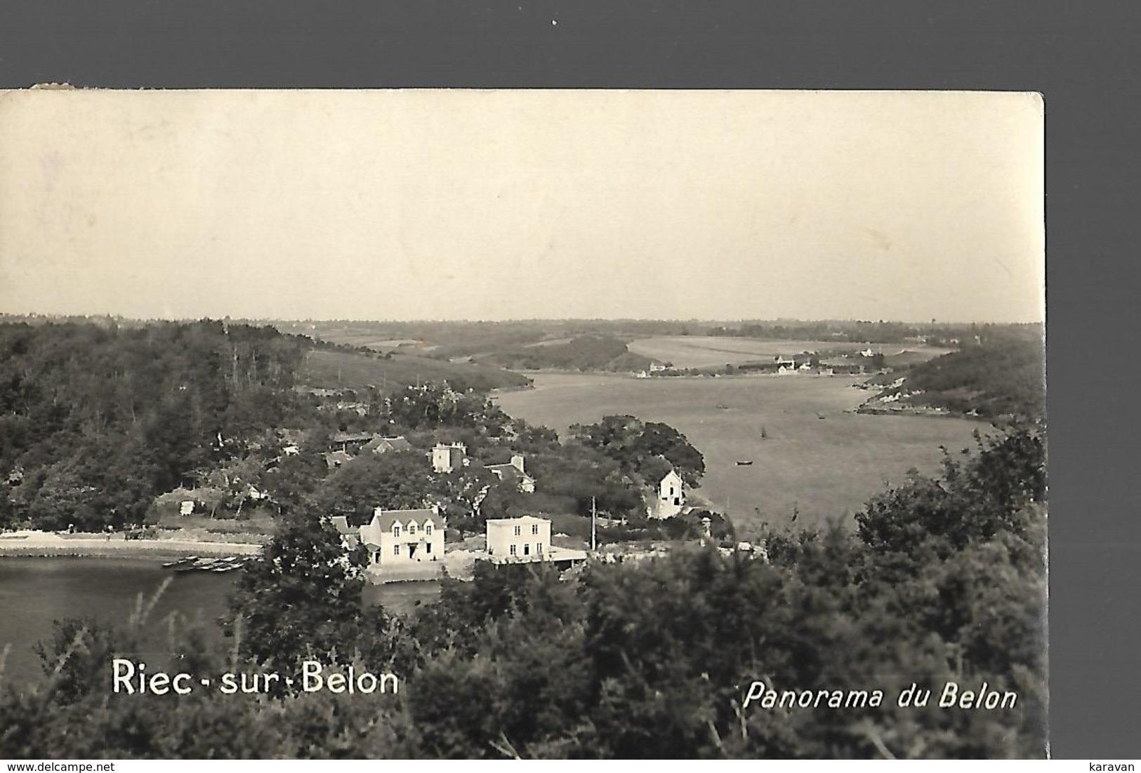 Carte Photo RIEC SUR BELON - France