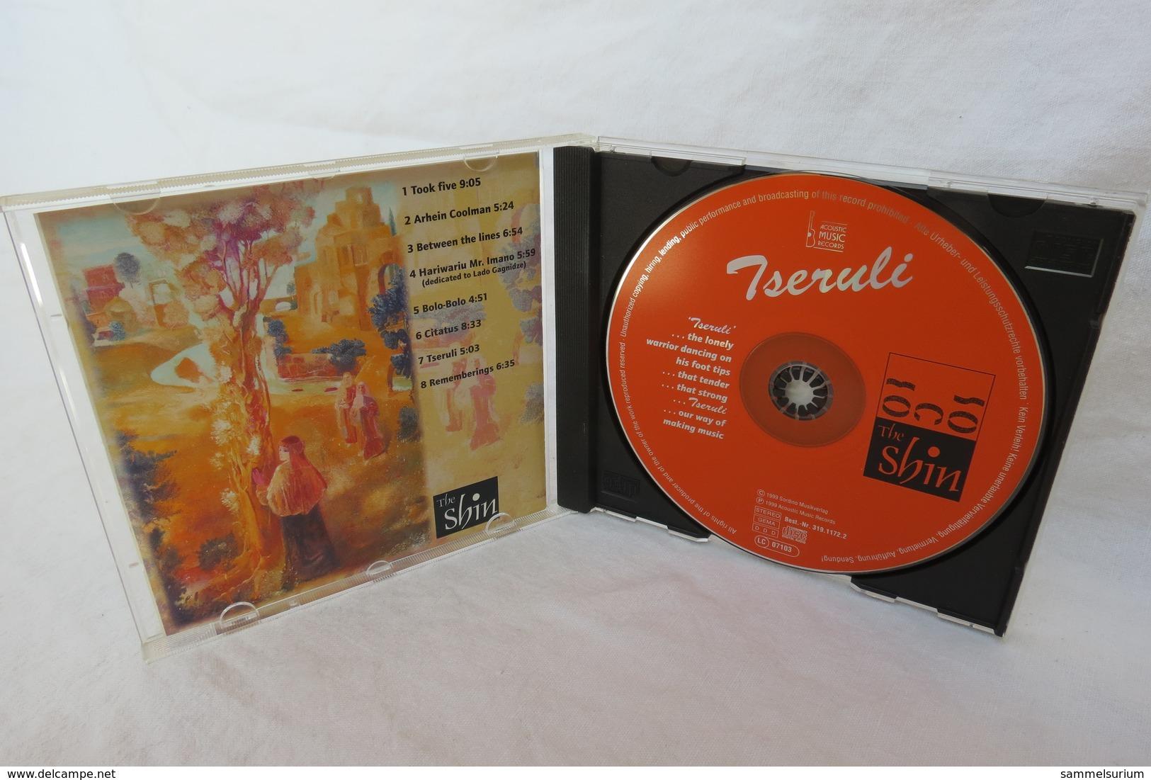 "CD ""Tseruli"" The Shin - Nueva Era (New Age)"