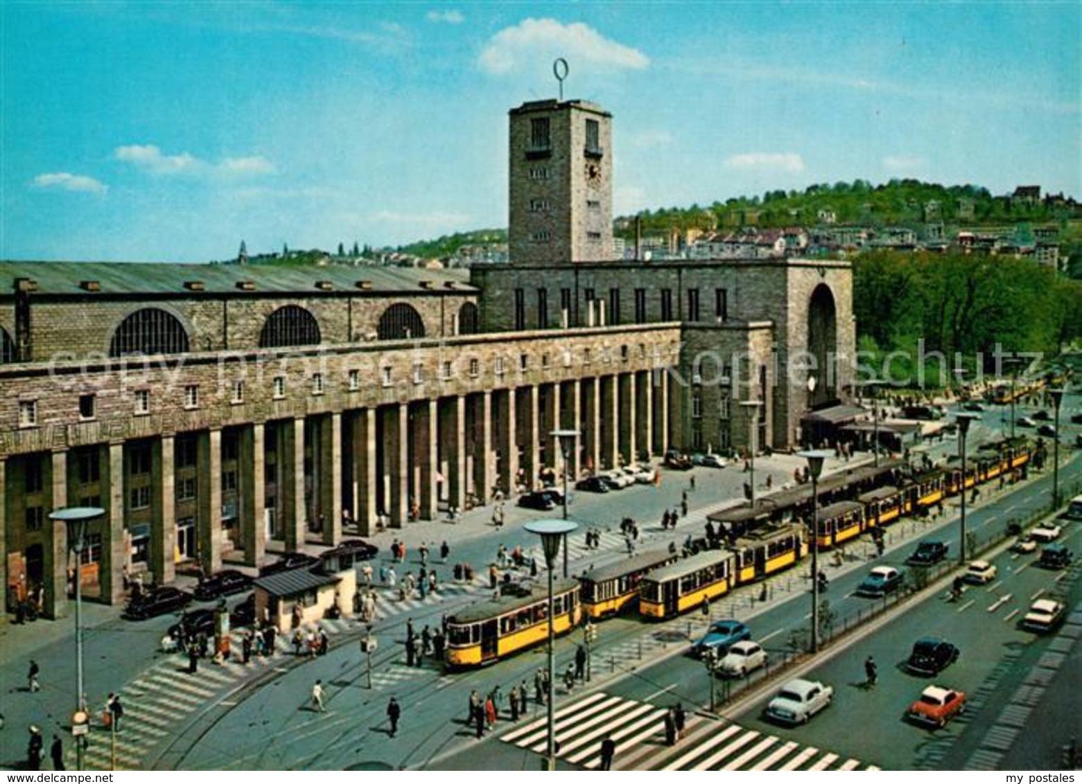 43350023 Stuttgart Hauptbahnhof Strassenbahn Stuttgart - Stuttgart