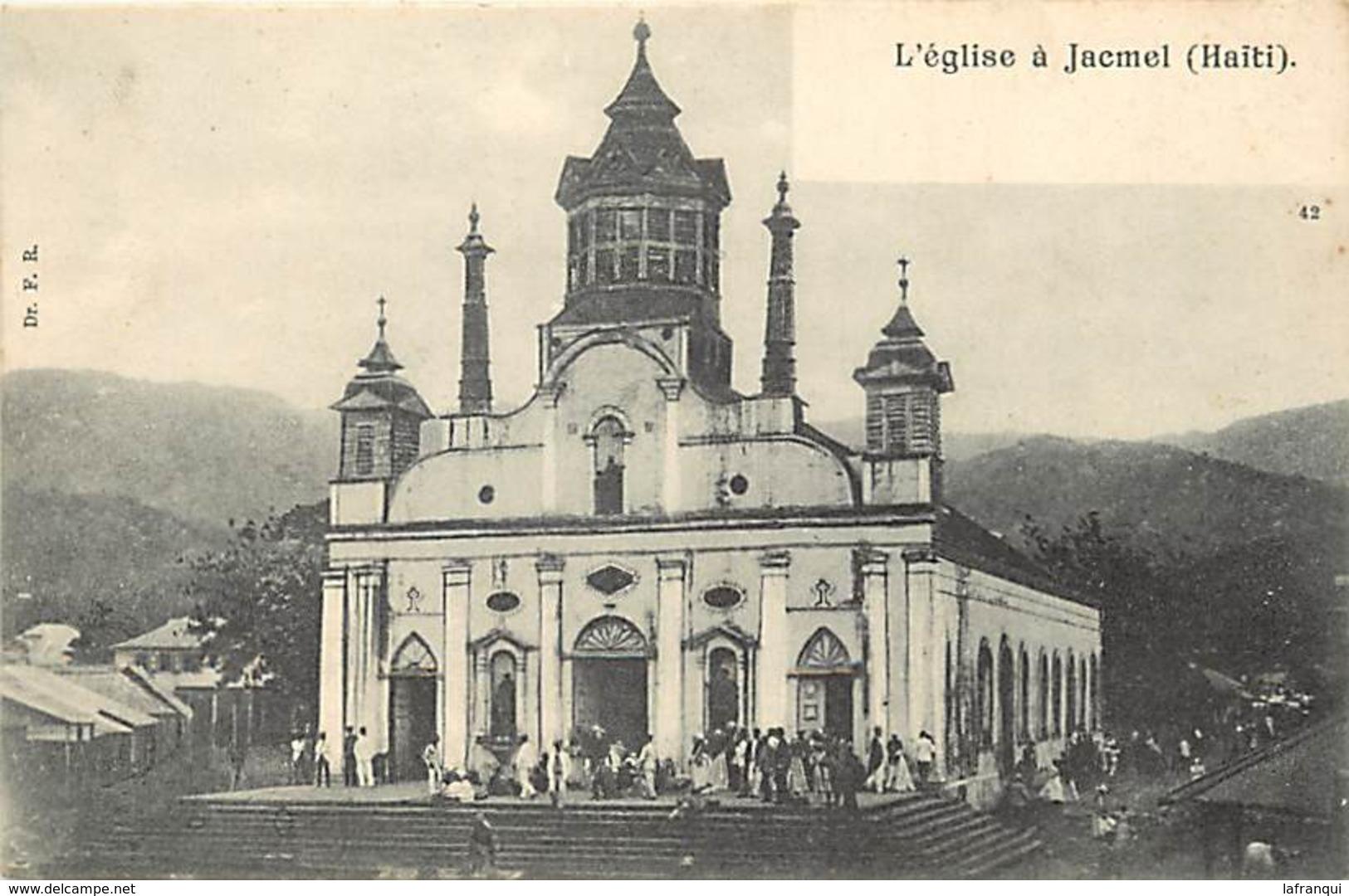 Pays Div- Ref R184- Haiti - L Eglise A Jacmel  - - Haïti