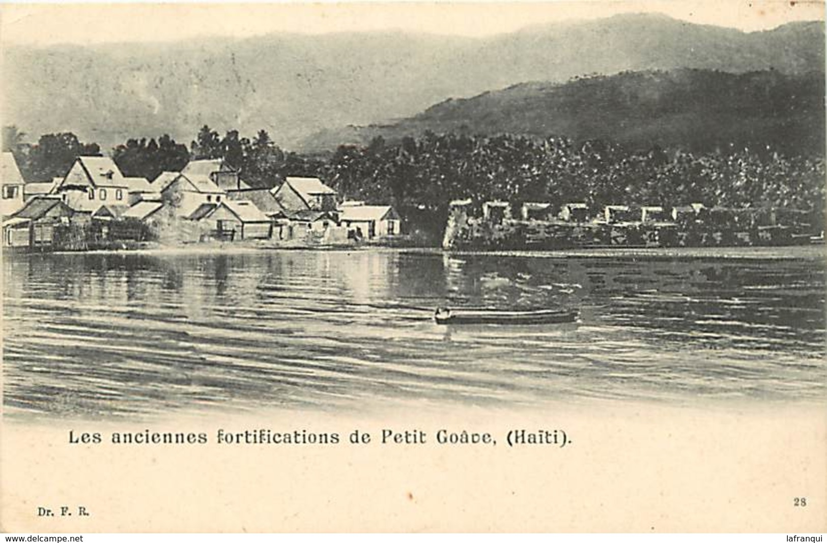Pays Div- Ref R183- Haiti - Les Anciennes Fortifications De Petit Goace - - Haïti