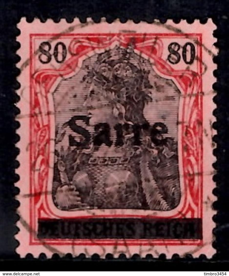 Sarre YT N° 16 Oblitéré. B/TB. A Saisir! - Used Stamps
