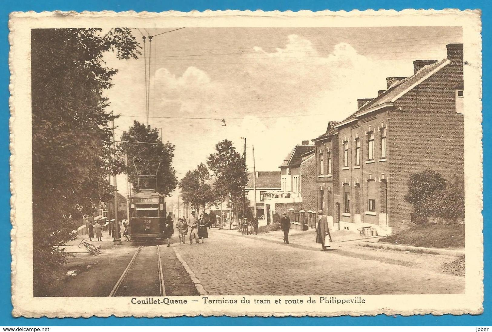 (G063) COUILLET-QUEUE - Terminus Du Tram - Charleroi