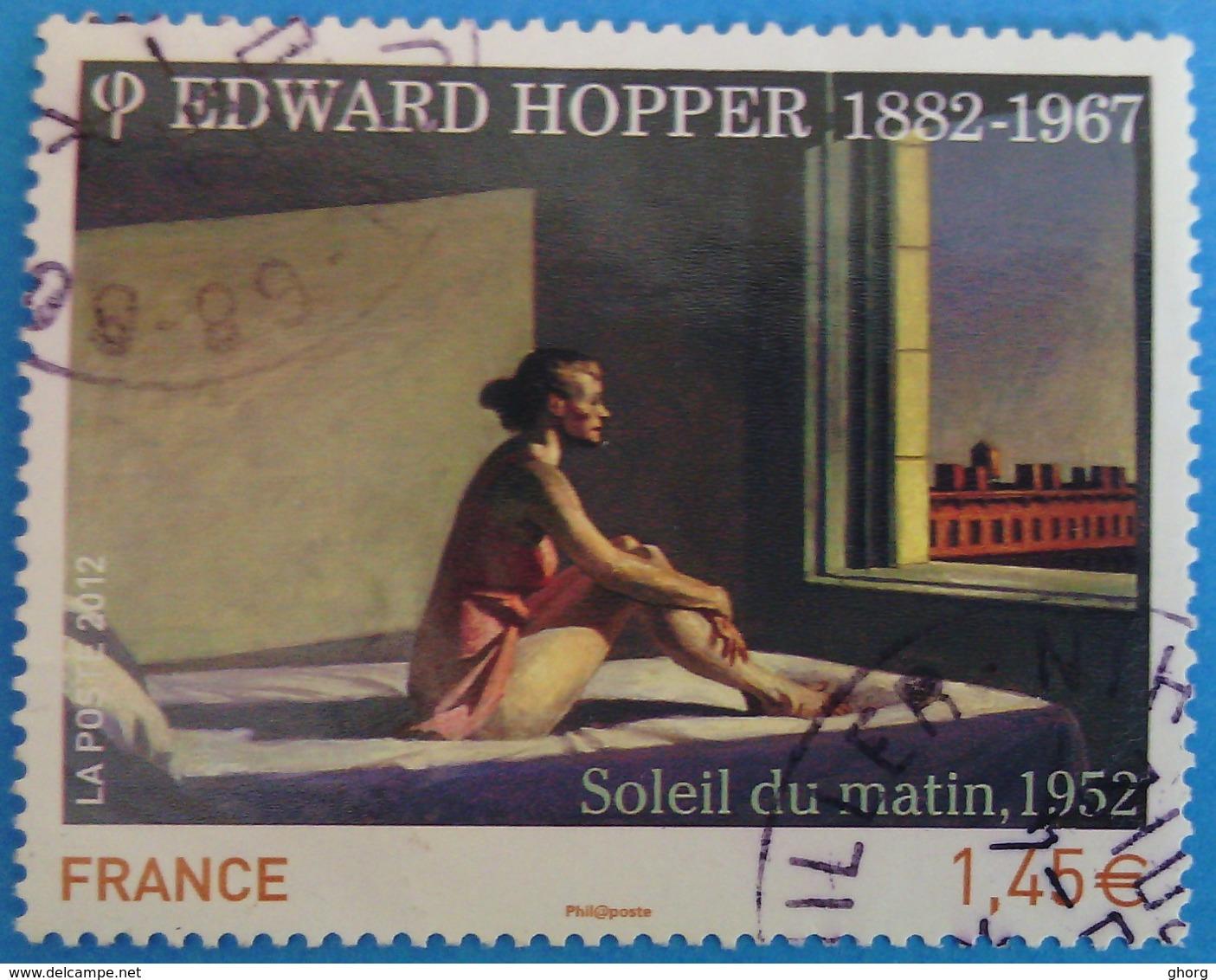 France 2012 :  Série Artistique, Edward Hopper N° 4633 Oblitéré - France