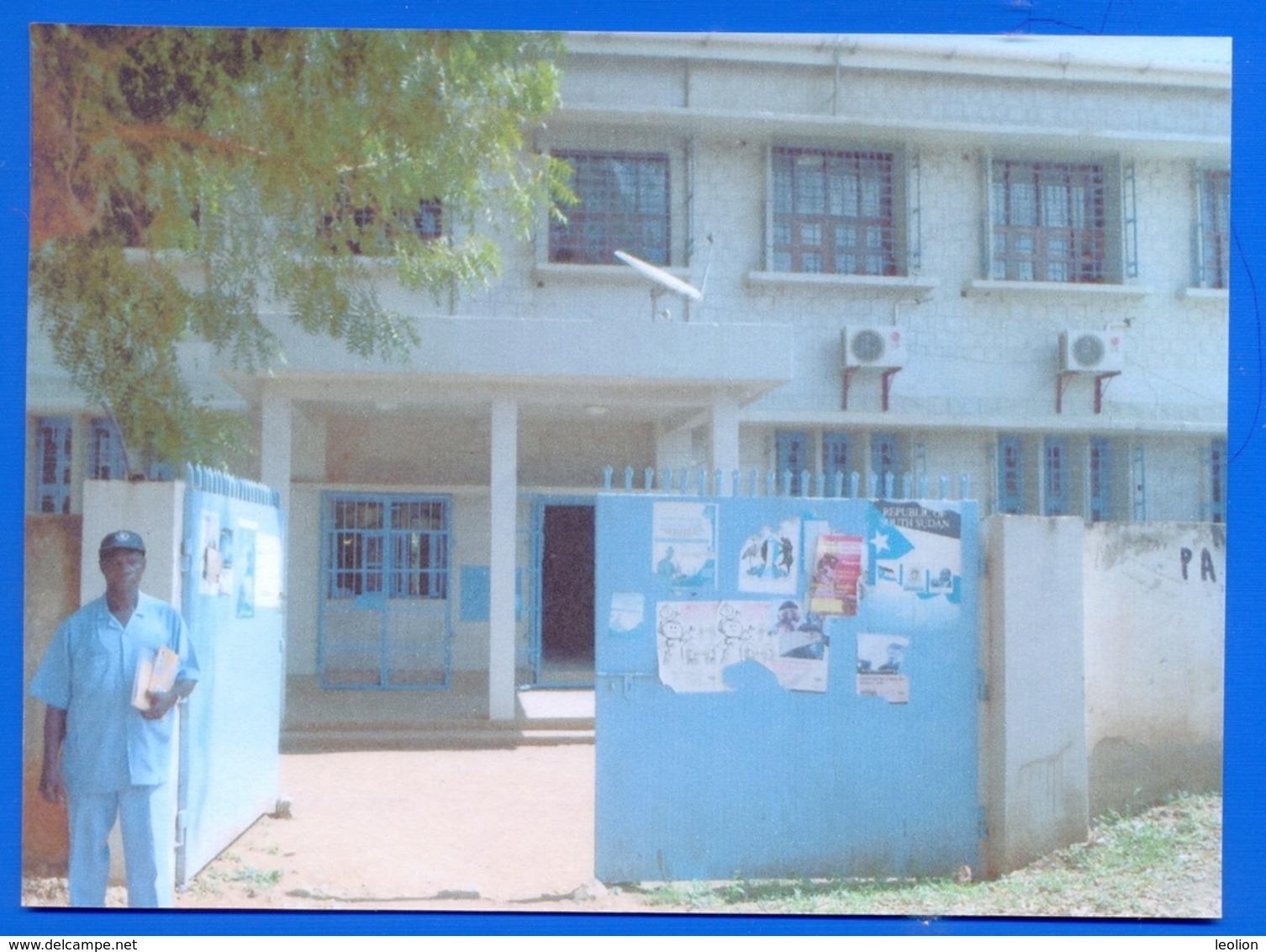 Südsudan SOUTH SUDAN Postcard Entrance Post Office In Juba, Mint, Locally Published Soudan Du Sud #6 - South Sudan