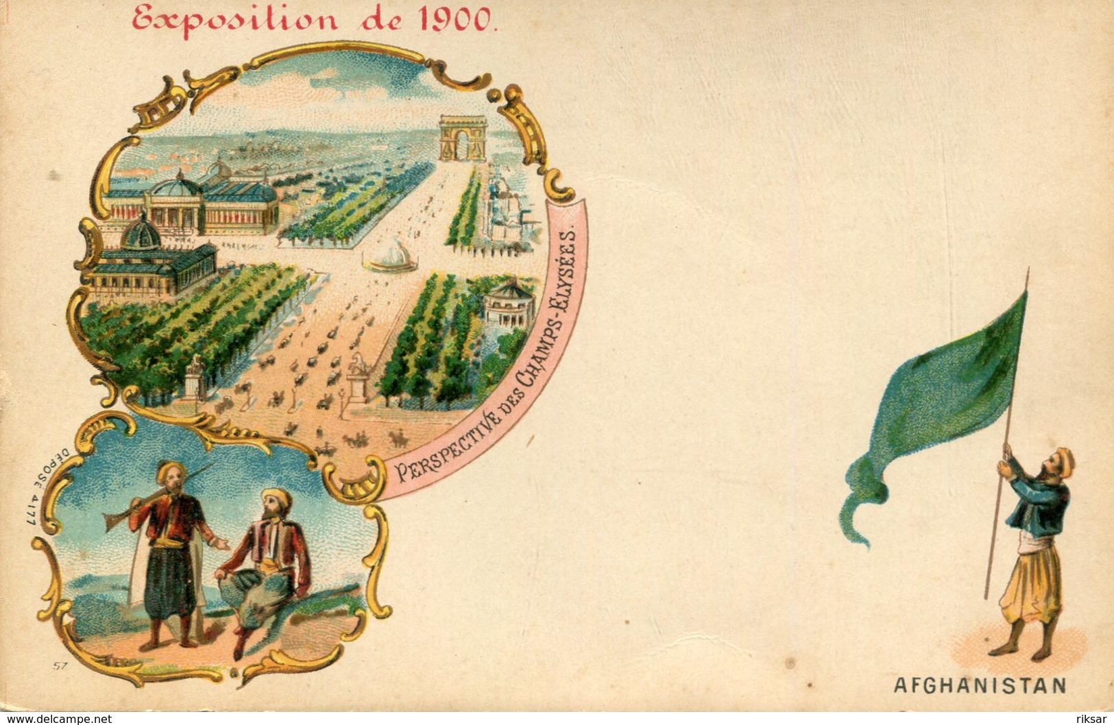 AFGHANISTAN(EXPOSITION PARIS 1900) - Afghanistan