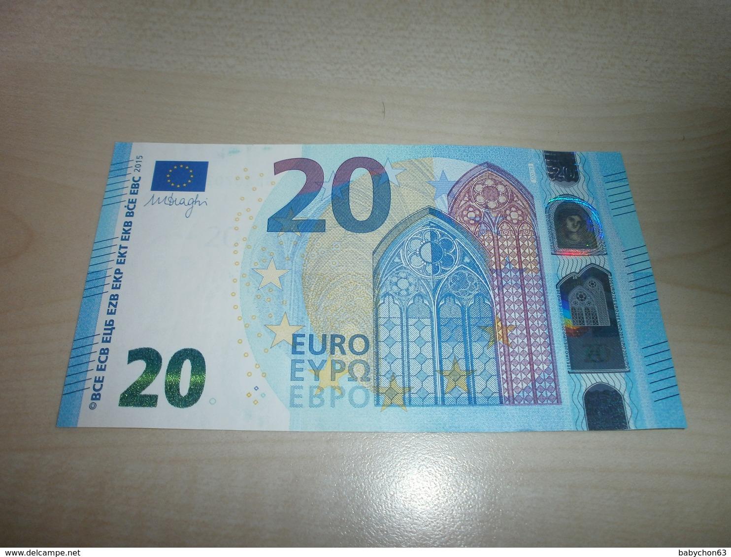 20 EUROS (S S007 B3) - EURO