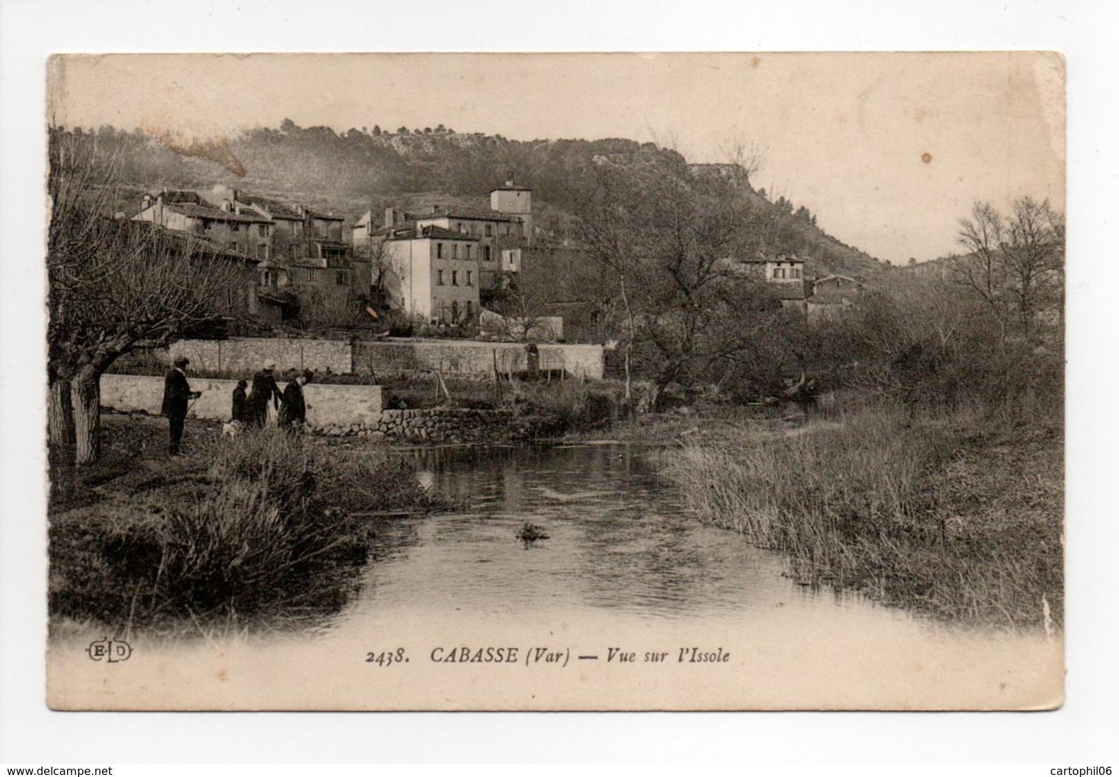 - CPA CABASSE (83) - Vue Sur L'Issole - Edition Le Deley 2438 - - France