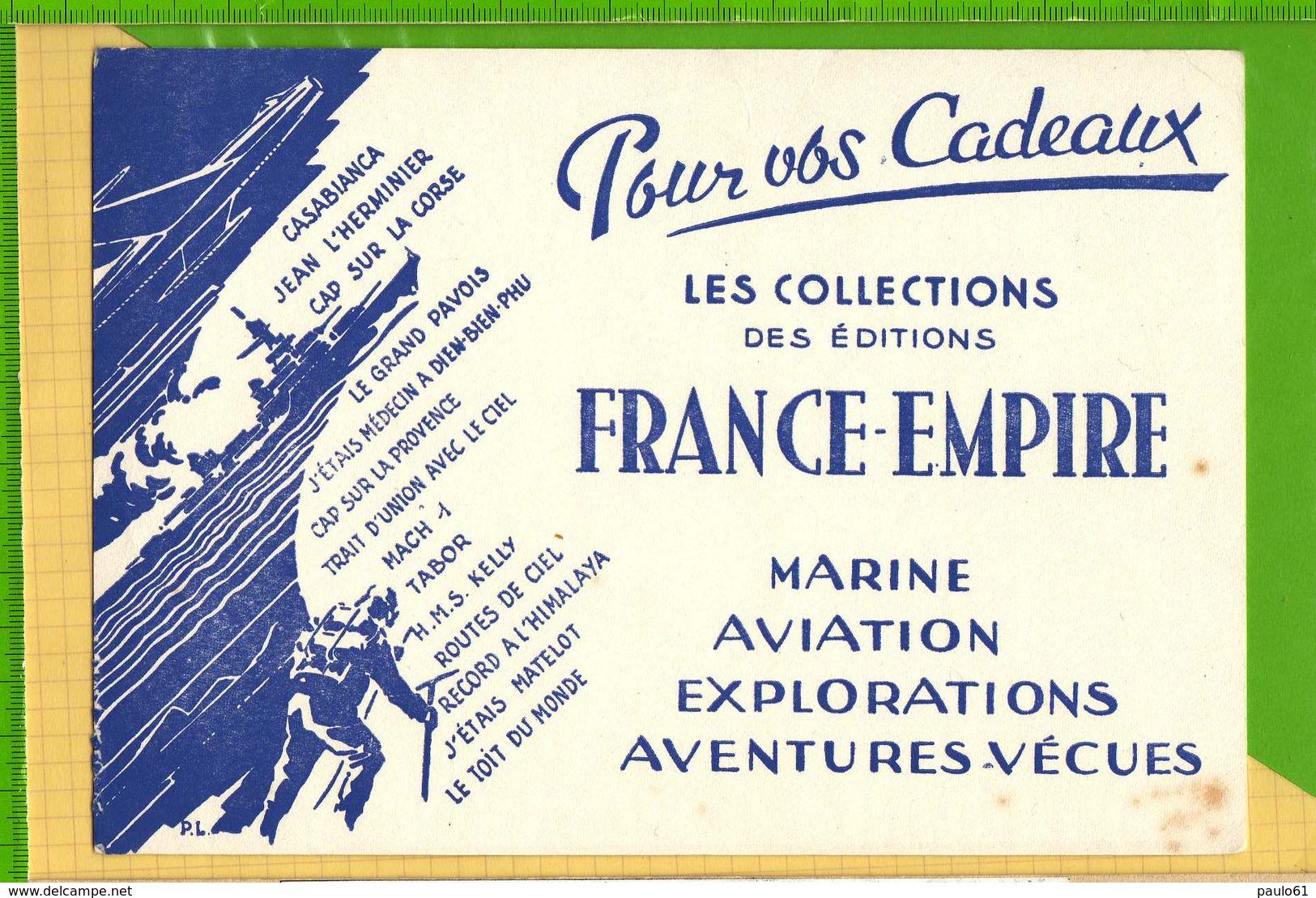 BUVARD & Blotter Paper : Les Editions FRANCE EMPIRE - Papeterie