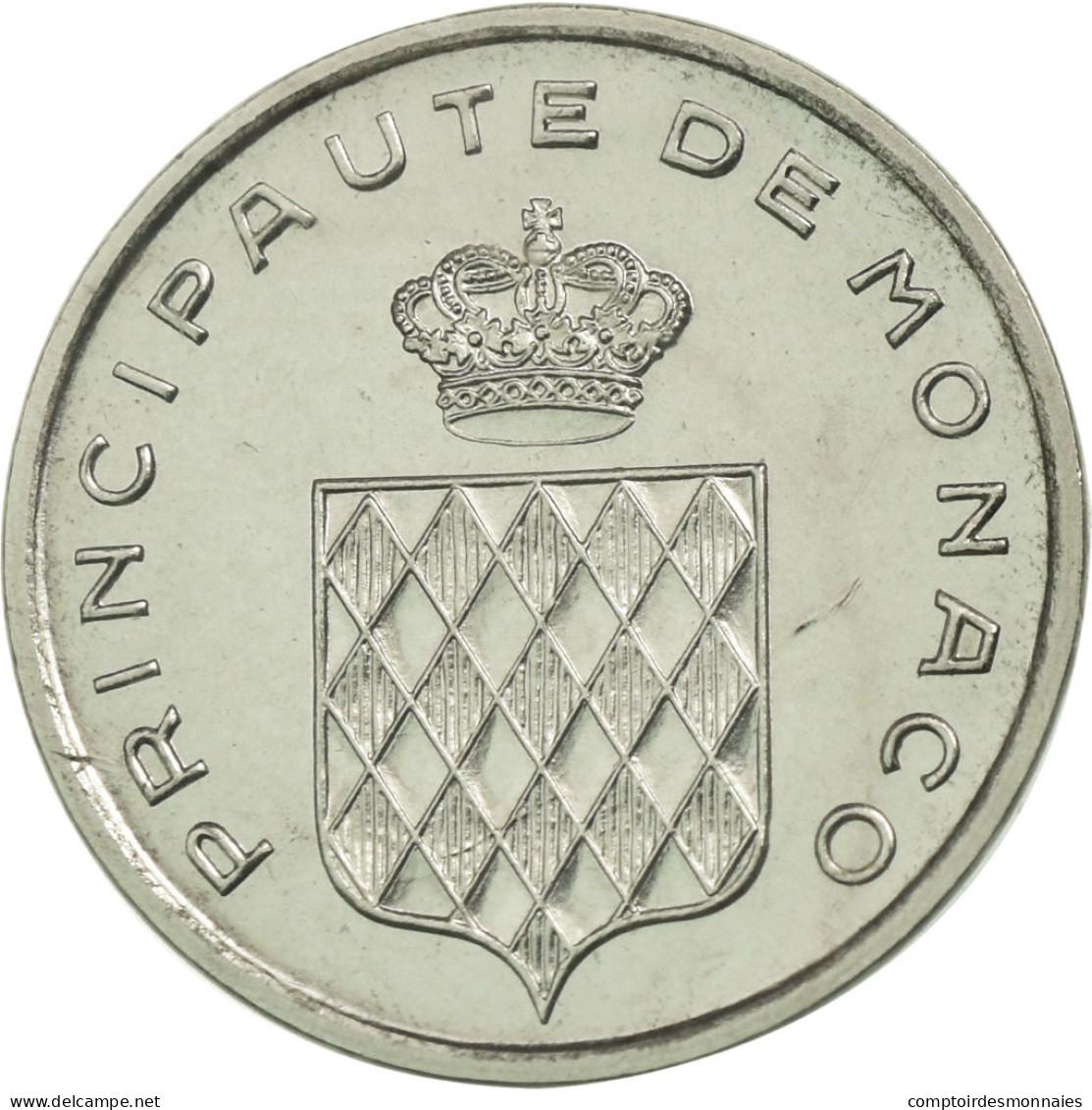 Monnaie, Monaco, Centime, 1976, ESSAI, FDC, Stainless Steel, Gadoury:MC 144 - 1960-2001 Nouveaux Francs