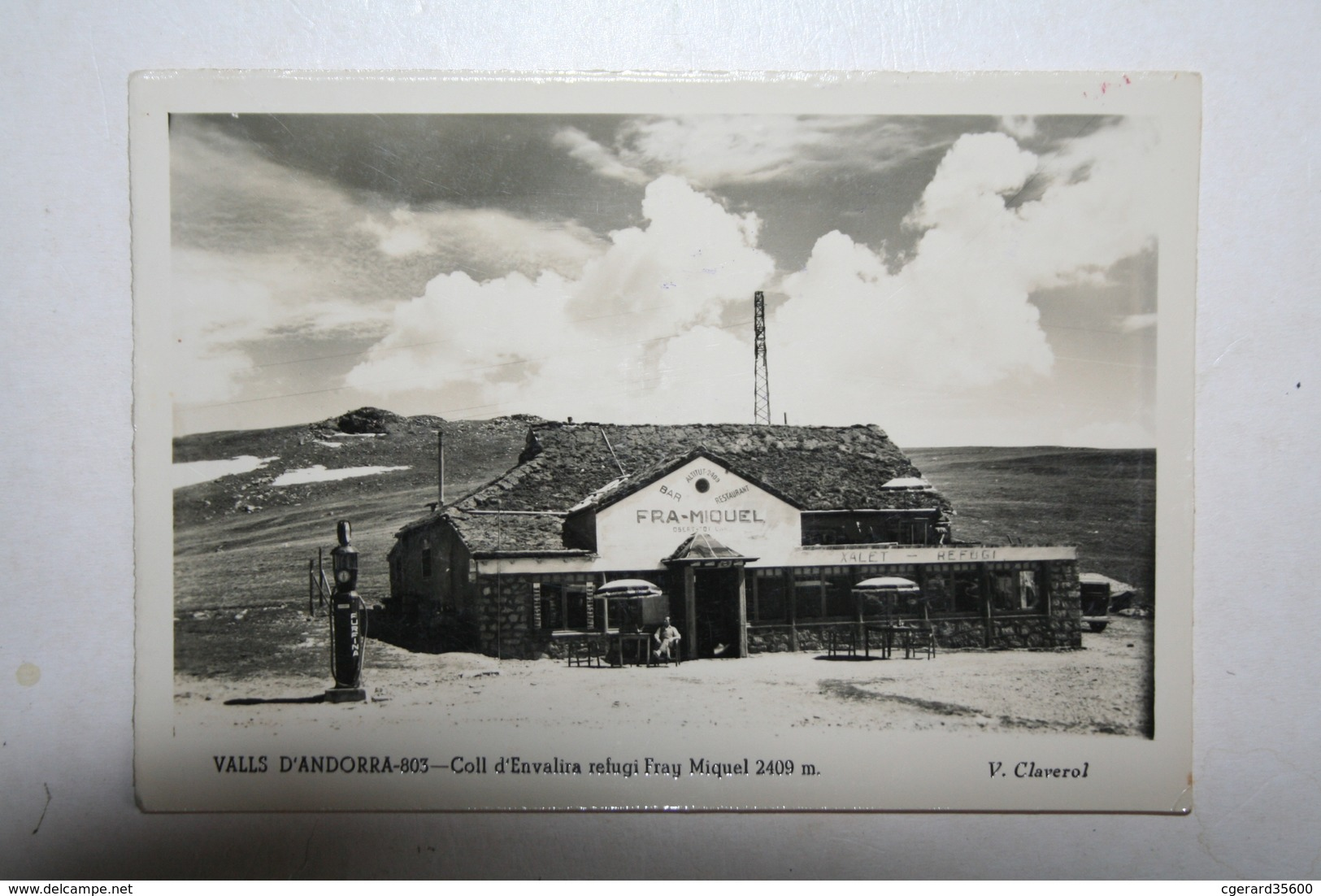 Andorre - Coll D'Envalia  Efugi Fray Miquel  ( Pompe Essence  ) - Andorre