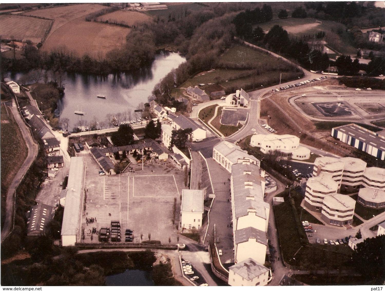 MARINE NATIONALE - Photo Aérienne Centre Marine LA VILLENEUVE Près De Brest - Guerra, Militari