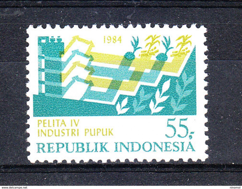 Indonesia -1987. Sviluppo Delle Industrie. Development Of Industries. Complete MNH Set - Fabbriche E Imprese