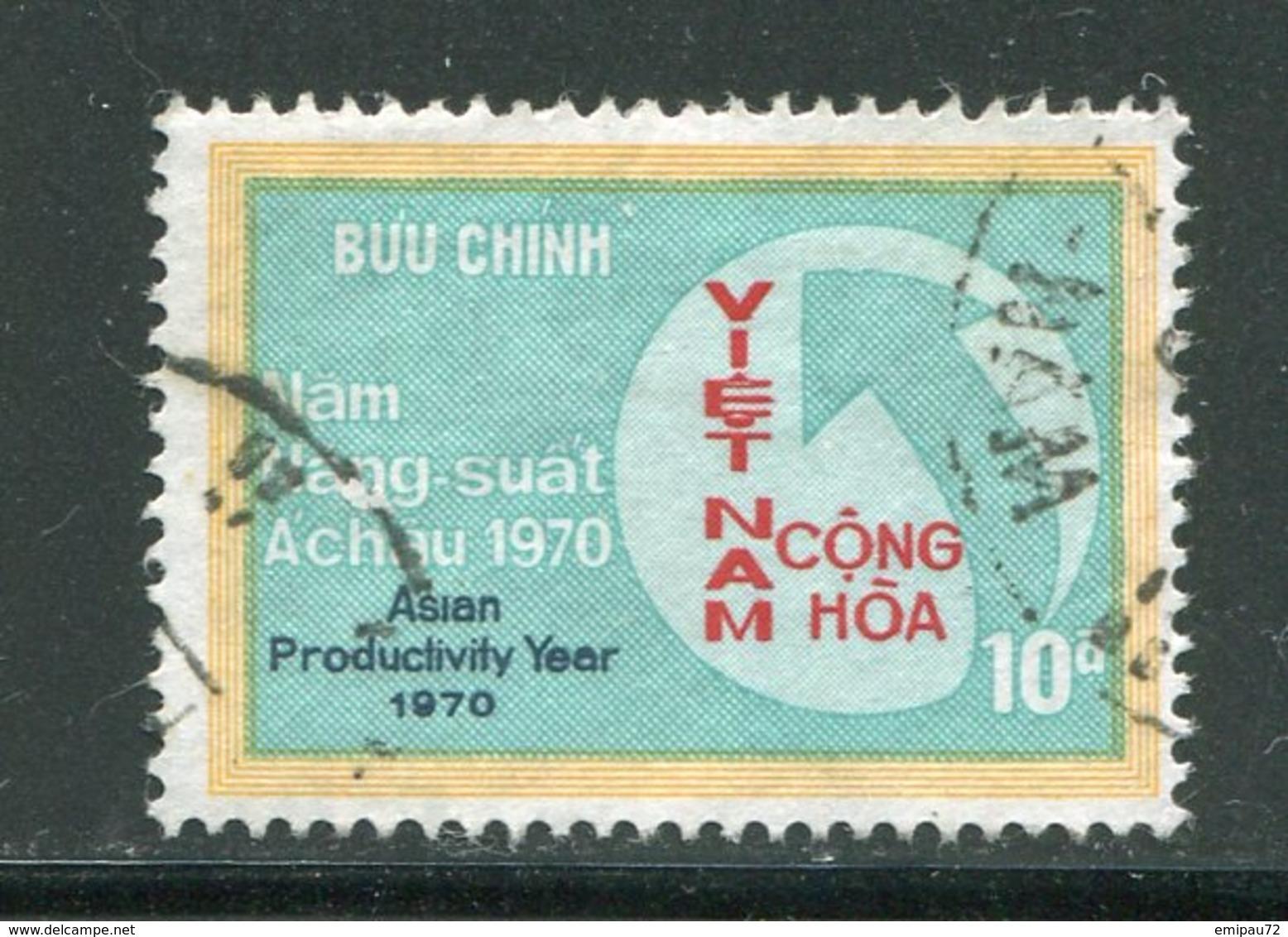 VIET-NAM DU SUD- Y&T N°384- Oblitéré - Viêt-Nam