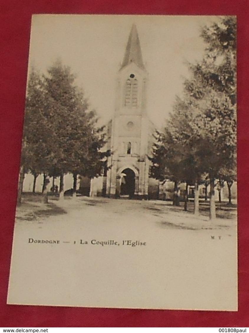 24 - La Coquille - ( Dordogne ) - L' Eglise------------- 488 - France