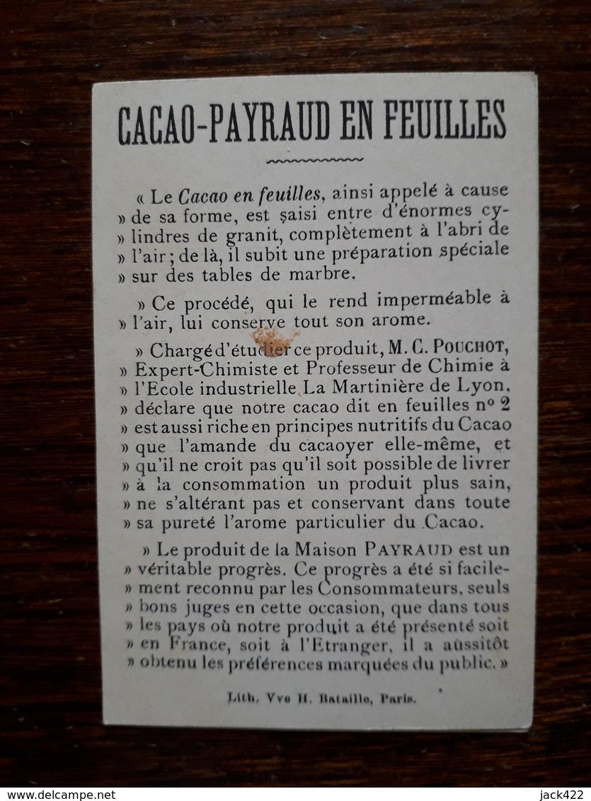 L16/35 Chromo. Cacao Payraud - Chocolate