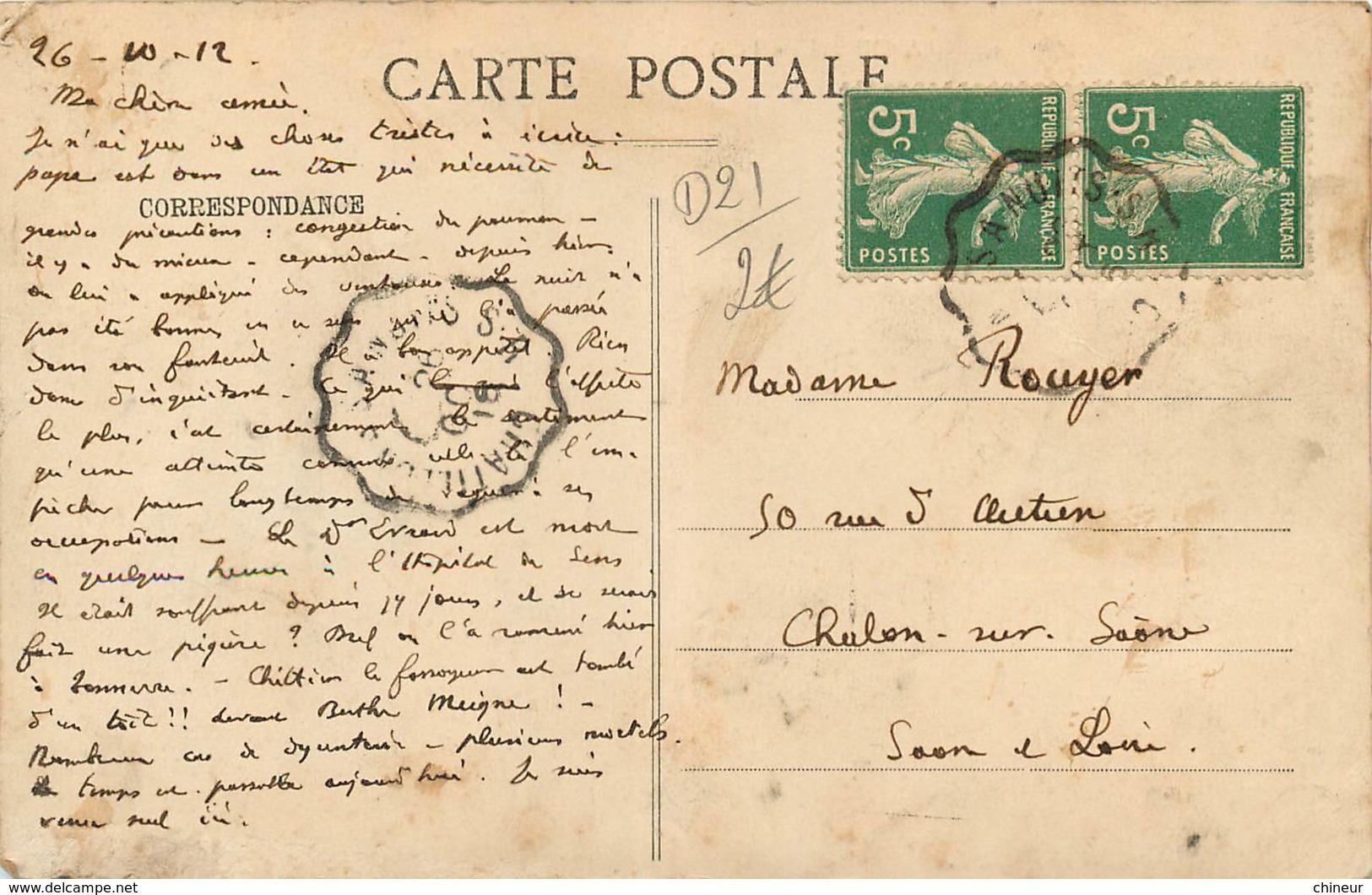 LAIGNES VUE GENERALE - France