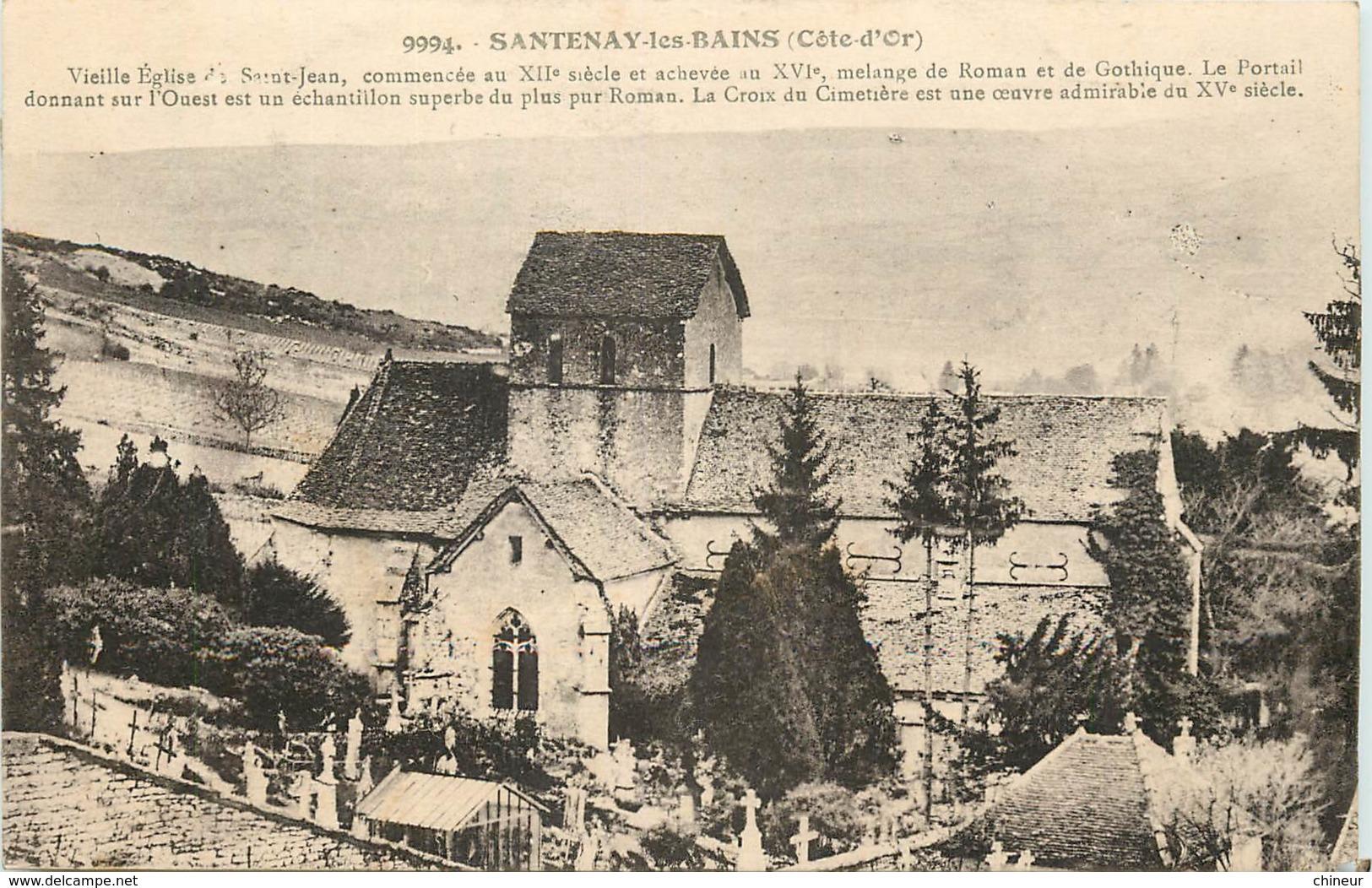 SANTENAY LES BAINS EGLISE - France