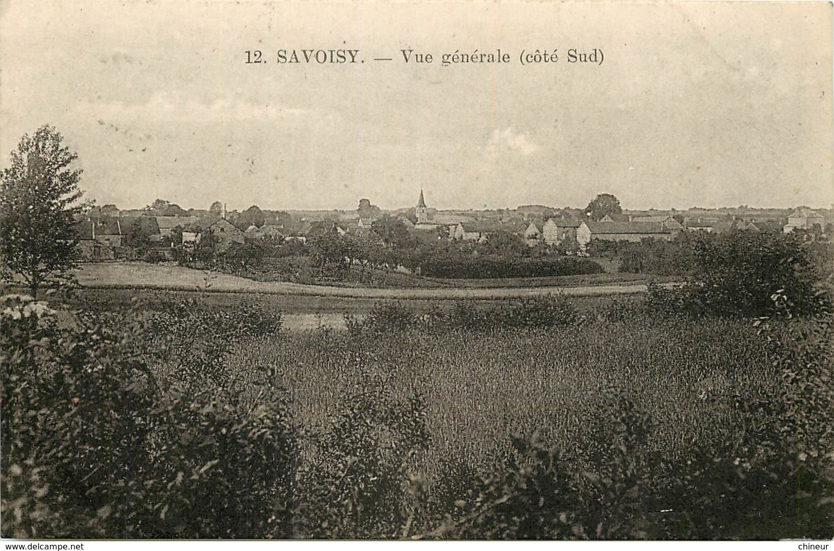 SAVOISY VUE GENERALE COTE SUD - France