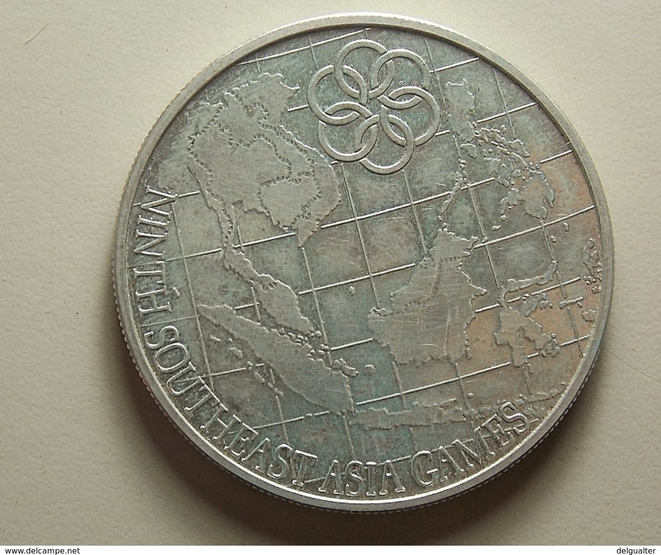 Malaysia 25 Ringgit 1977 Silver - Malaysie