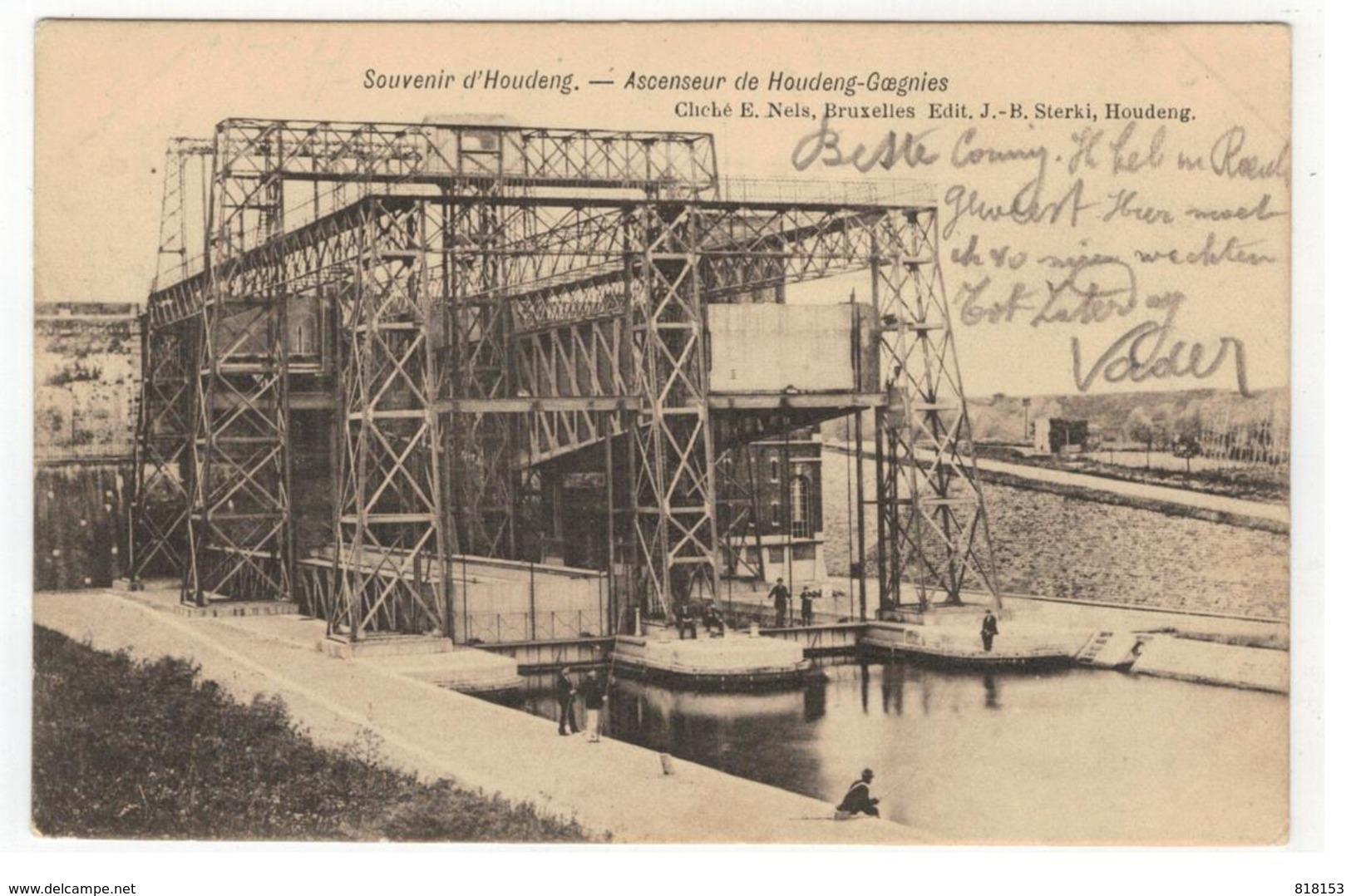Houdeng Souvenir D'Houdeng - Ascenseur De Houdeng-Goegnies 1905 - La Louvière