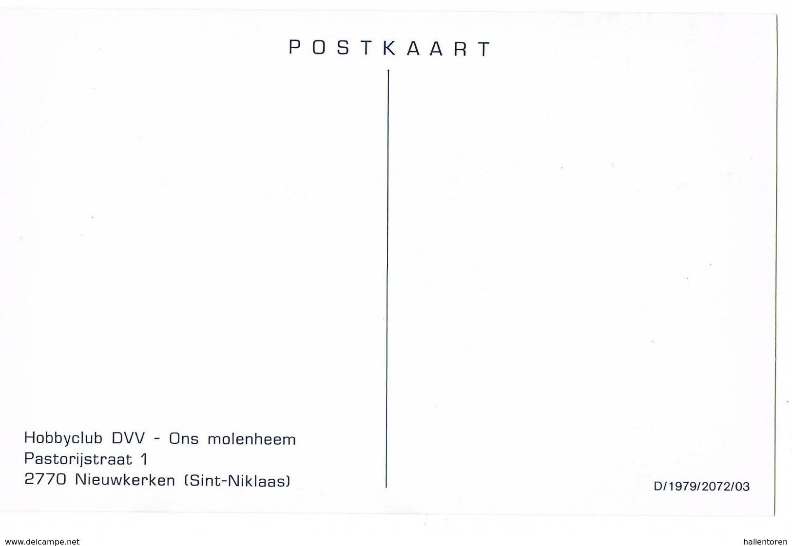 Overpelt: Molen Van Sevens (2 Scans) - Overpelt