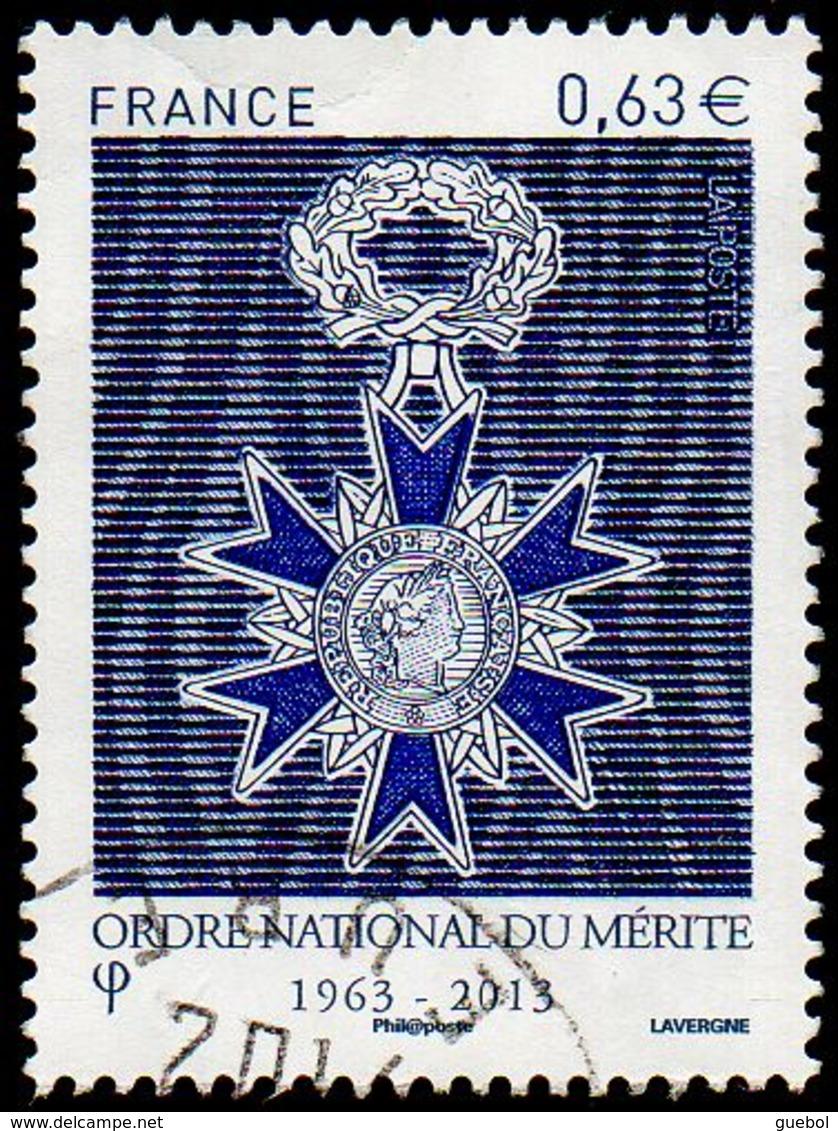 Oblitération Cachet à Date Sur Timbre De France N° 4830 - Ordre National Du Mérite - France